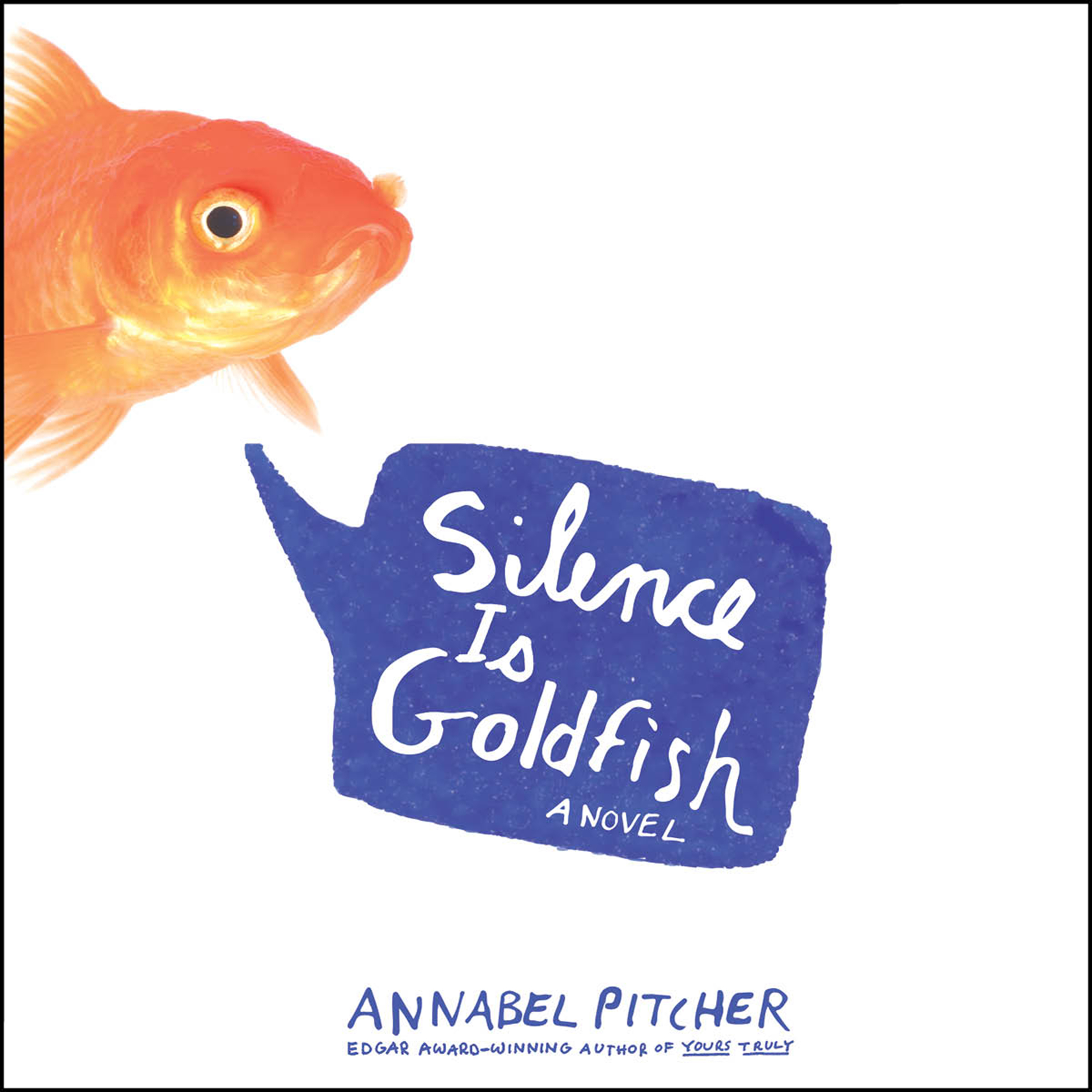 Printable Silence Is Goldfish Audiobook Cover Art