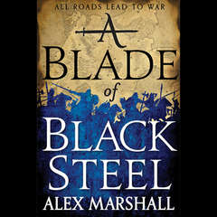A Blade of Black Steel Audiobook, by Alex Marshall