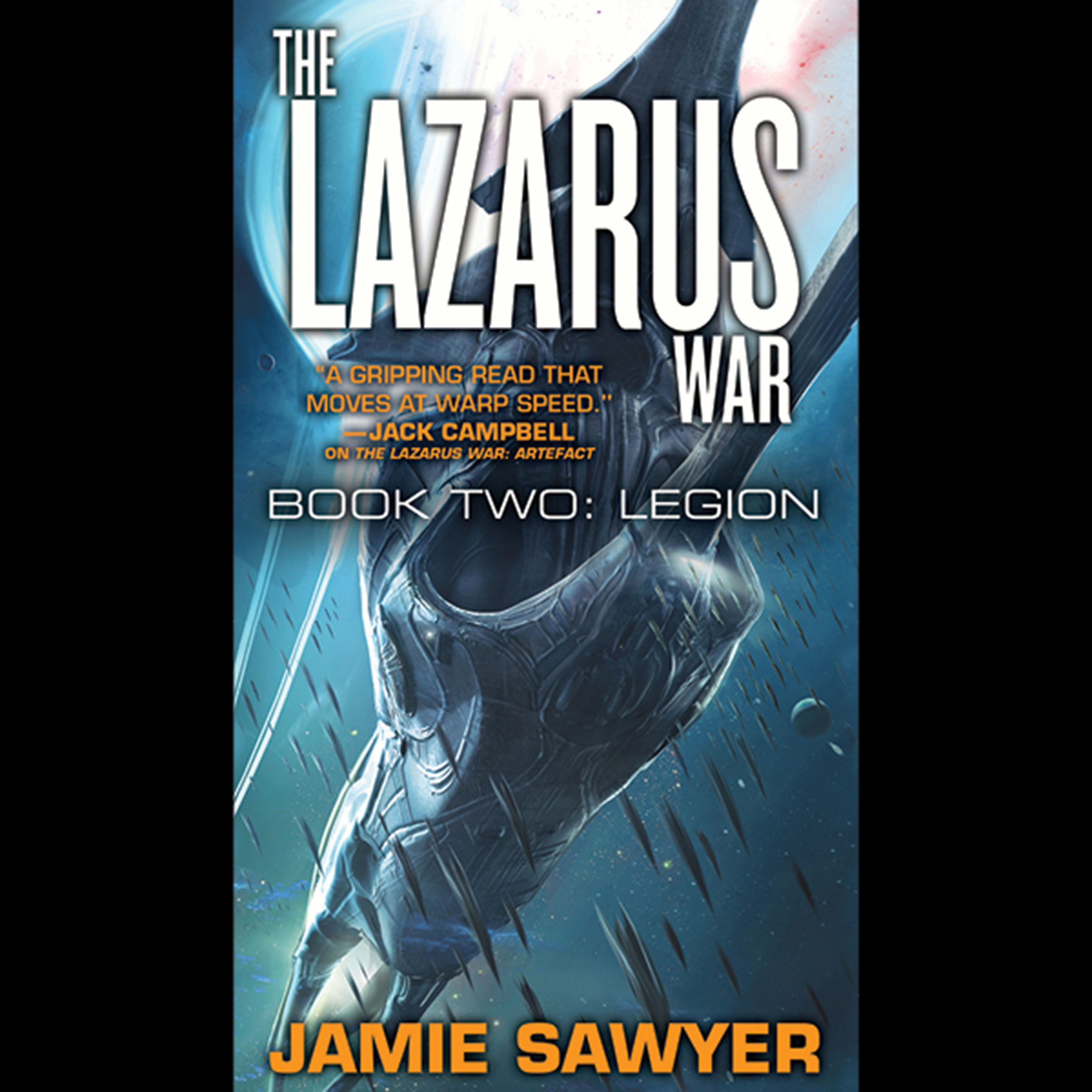 Printable The Lazarus War: Legion Audiobook Cover Art