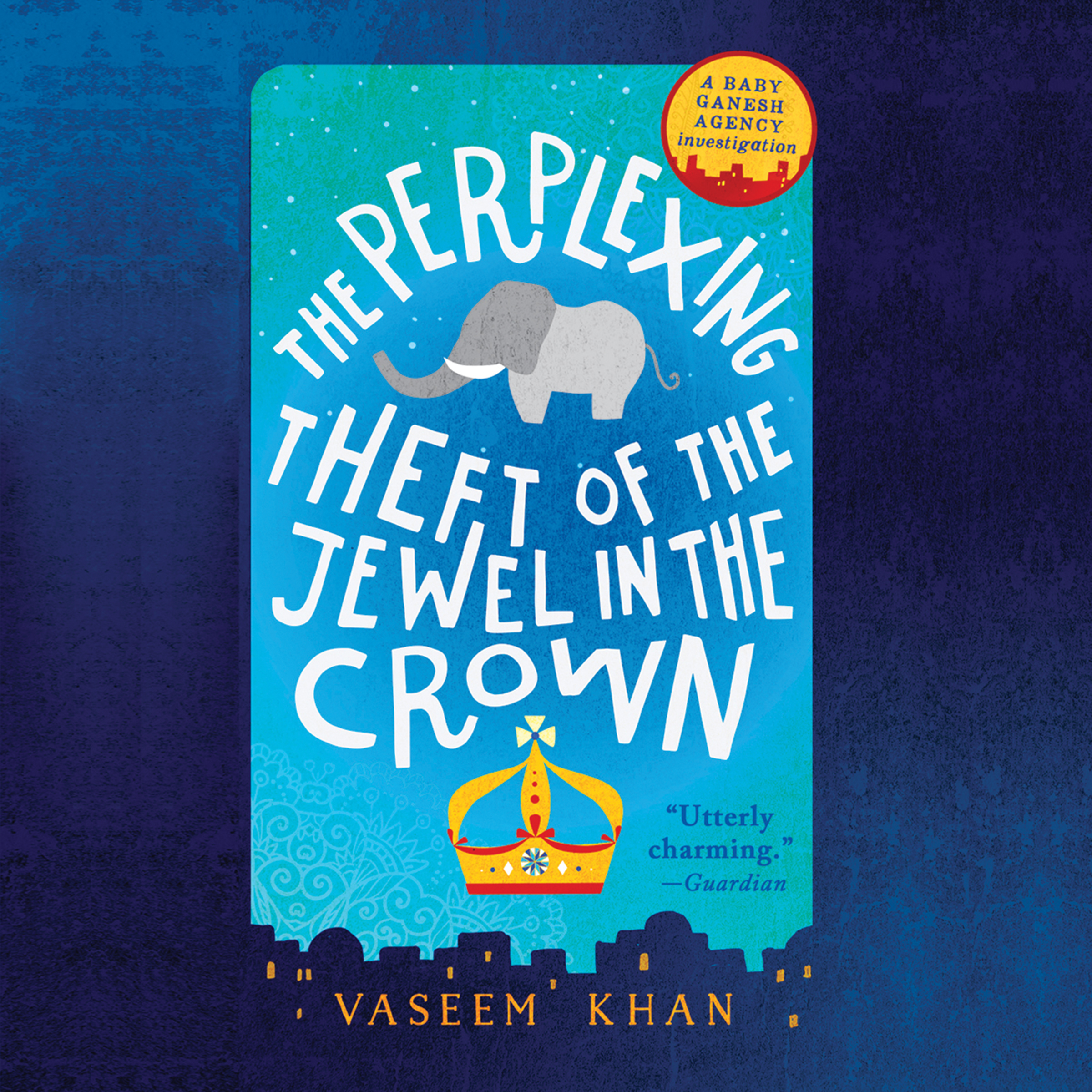 Printable The Perplexing Theft of the Jewel in the Crown Audiobook Cover Art