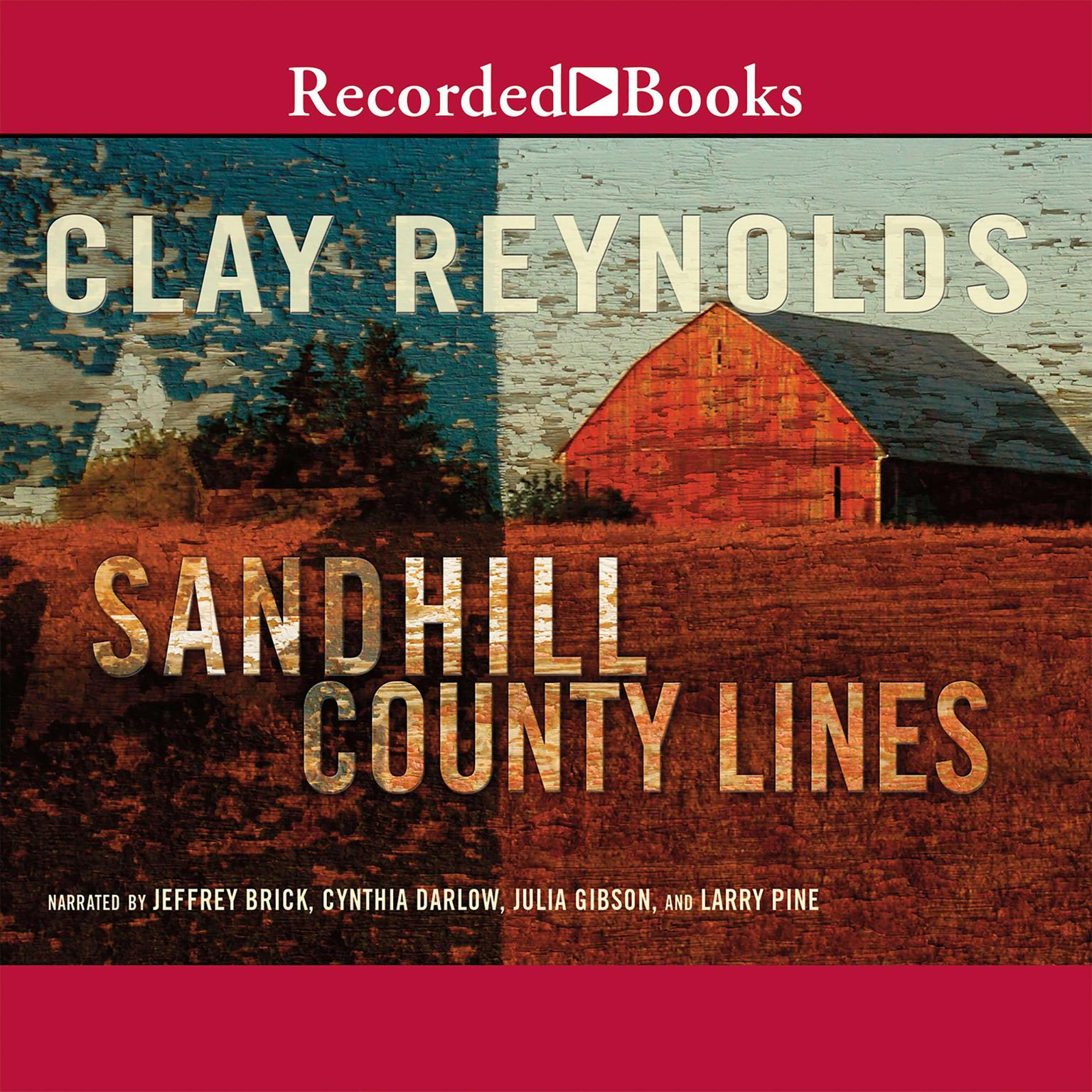 Printable Sandhill County Lines Audiobook Cover Art