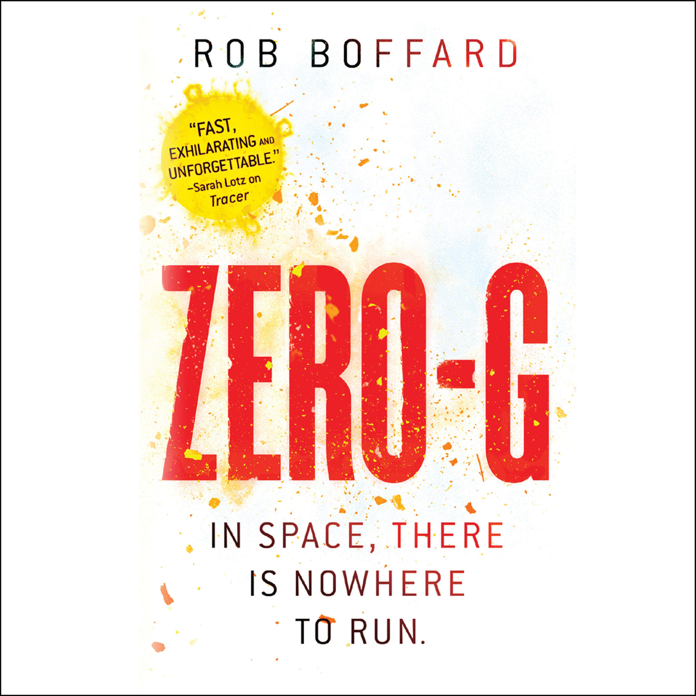 Printable Zero-G Audiobook Cover Art