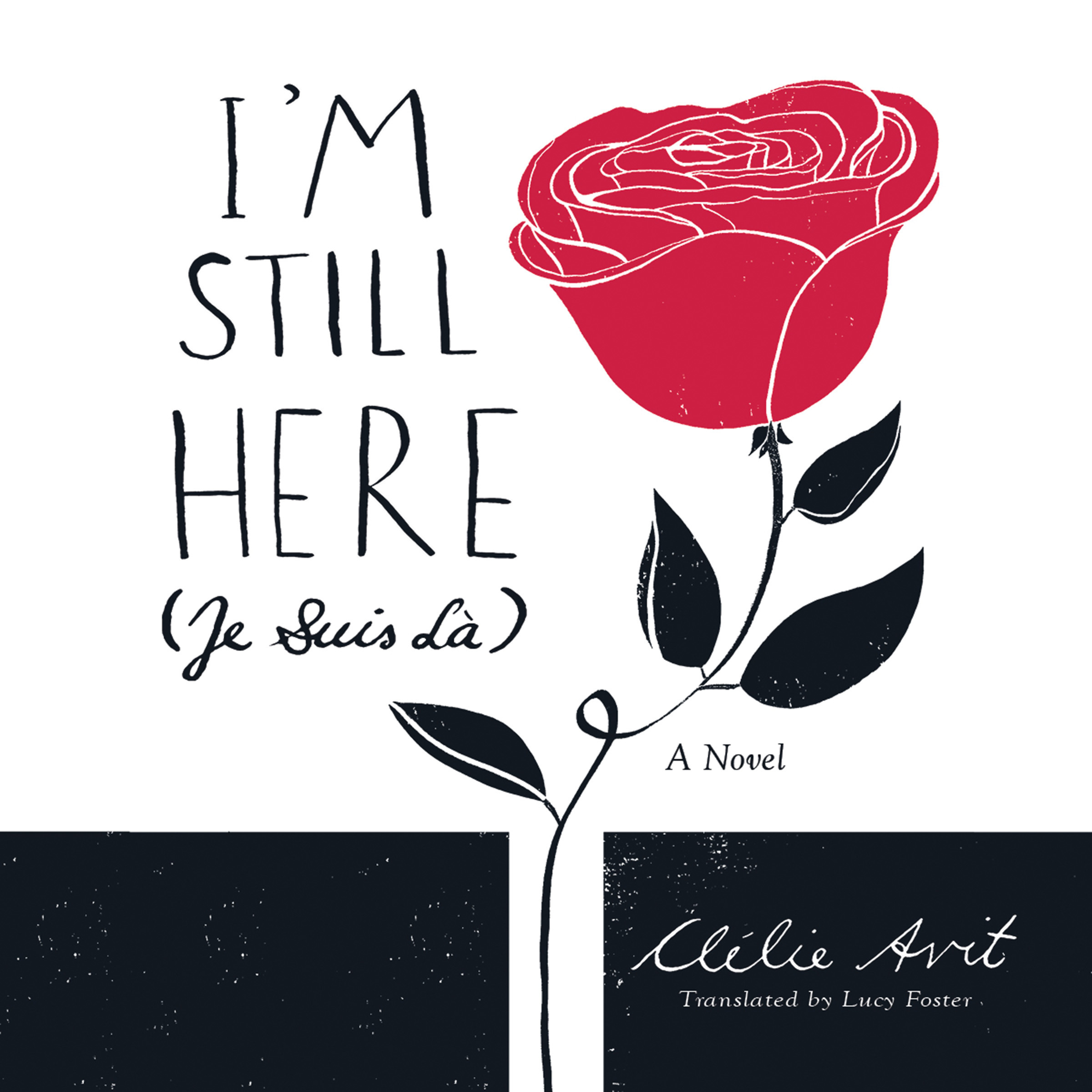 Printable I'm Still Here (Je Suis Là) Audiobook Cover Art