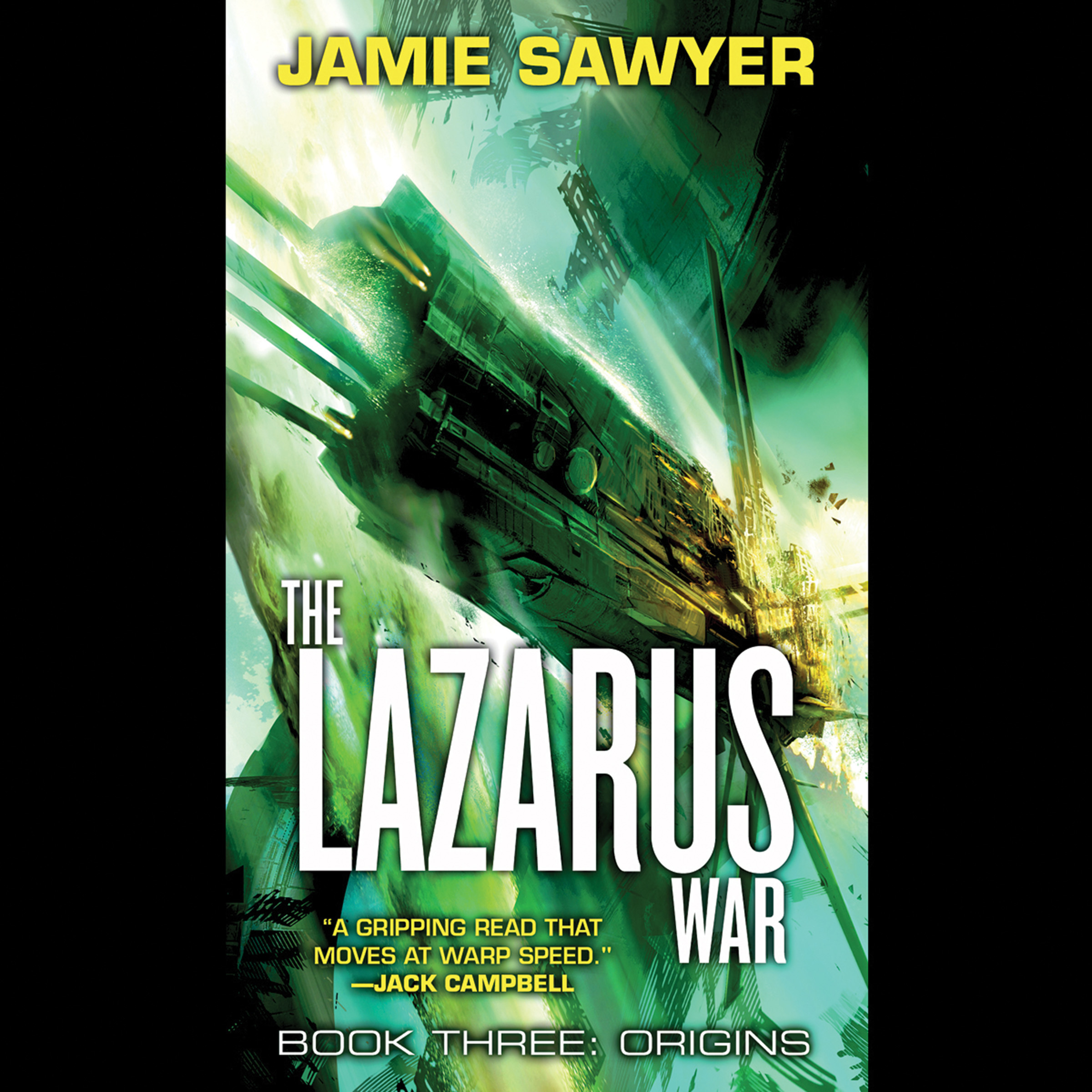 Printable The Lazarus War: Origins Audiobook Cover Art