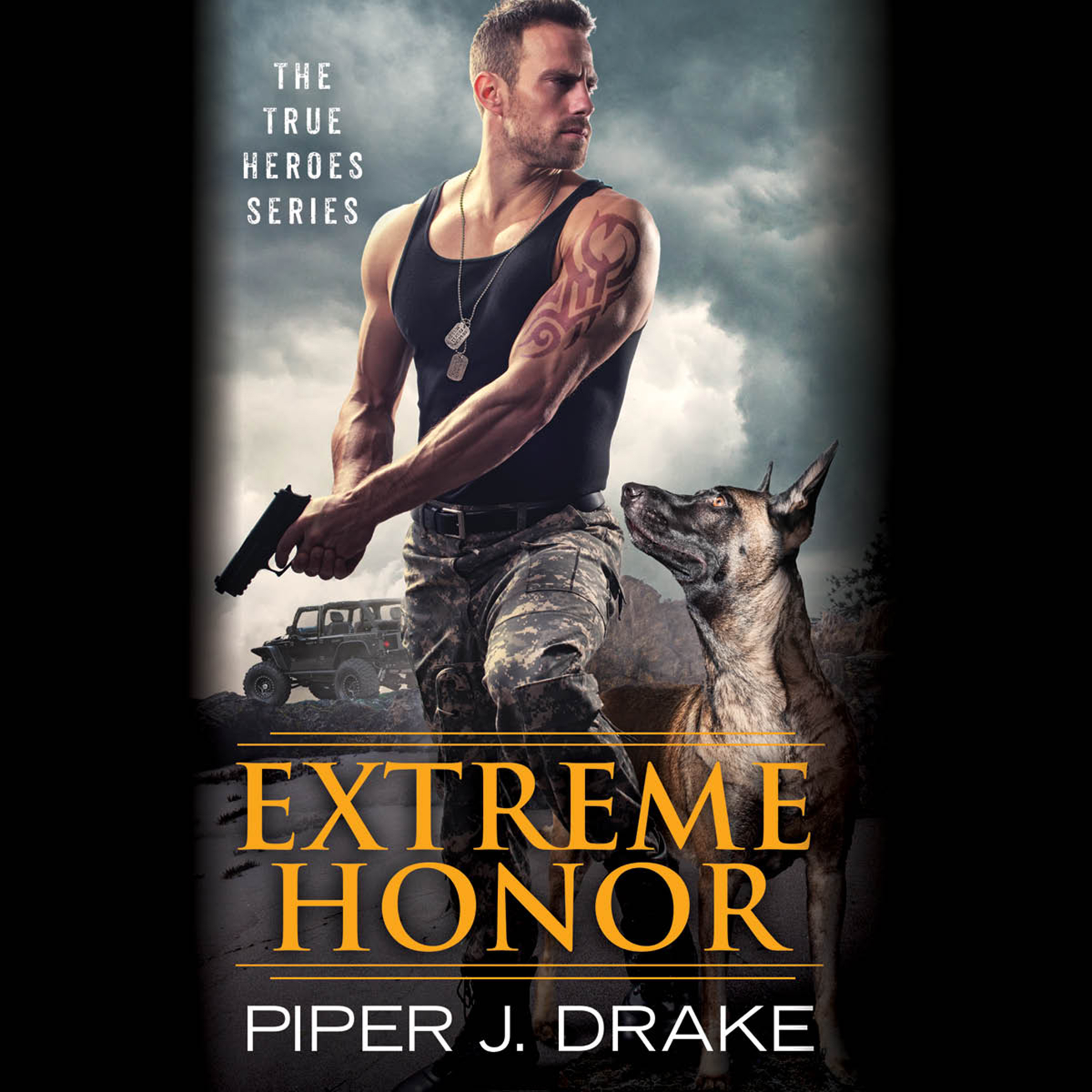 Printable Extreme Honor Audiobook Cover Art
