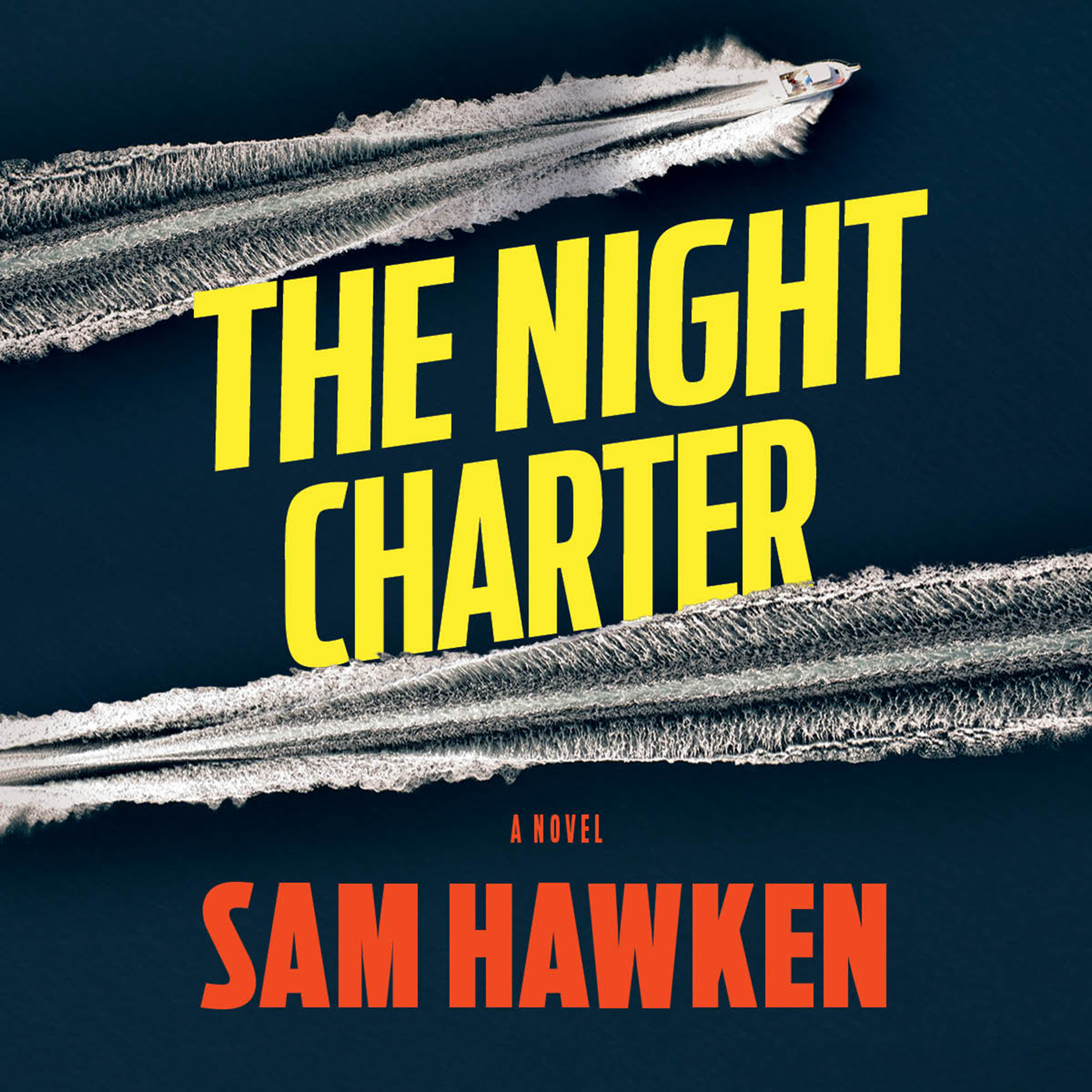 Printable The Night Charter Audiobook Cover Art