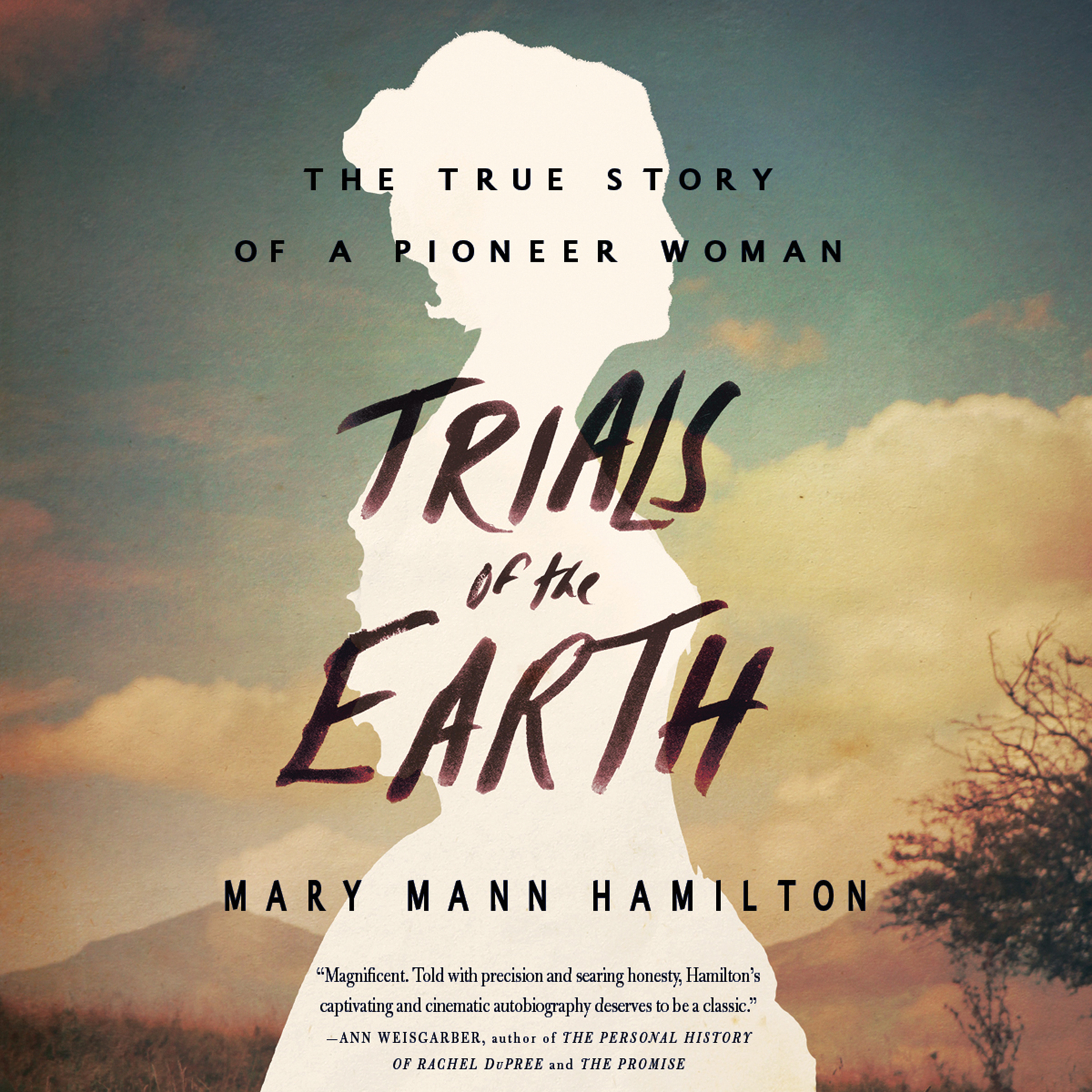 Printable Trials of the Earth: The True Story of a Pioneer Woman Audiobook Cover Art