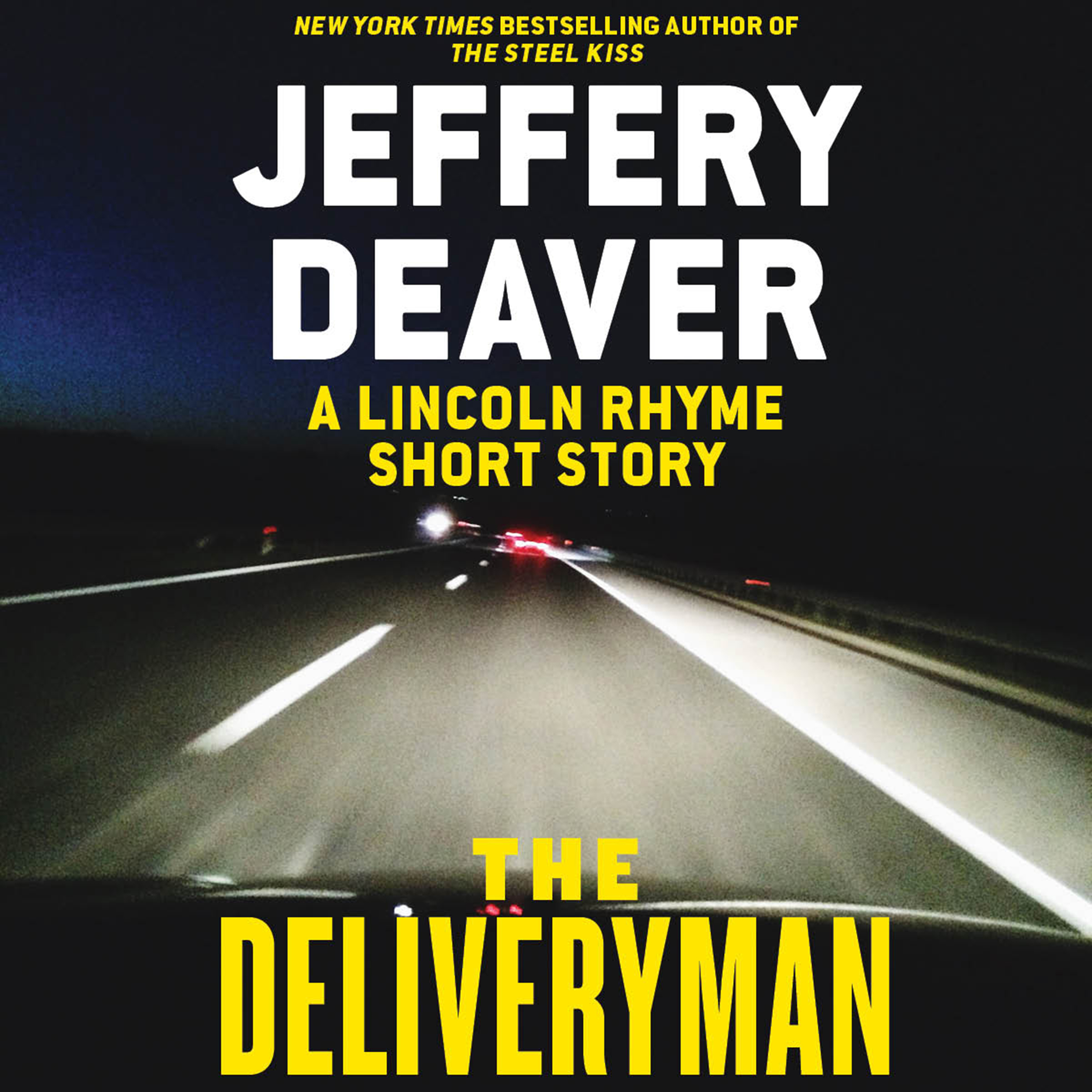Printable The Deliveryman: A Lincoln Rhyme Short Story Audiobook Cover Art