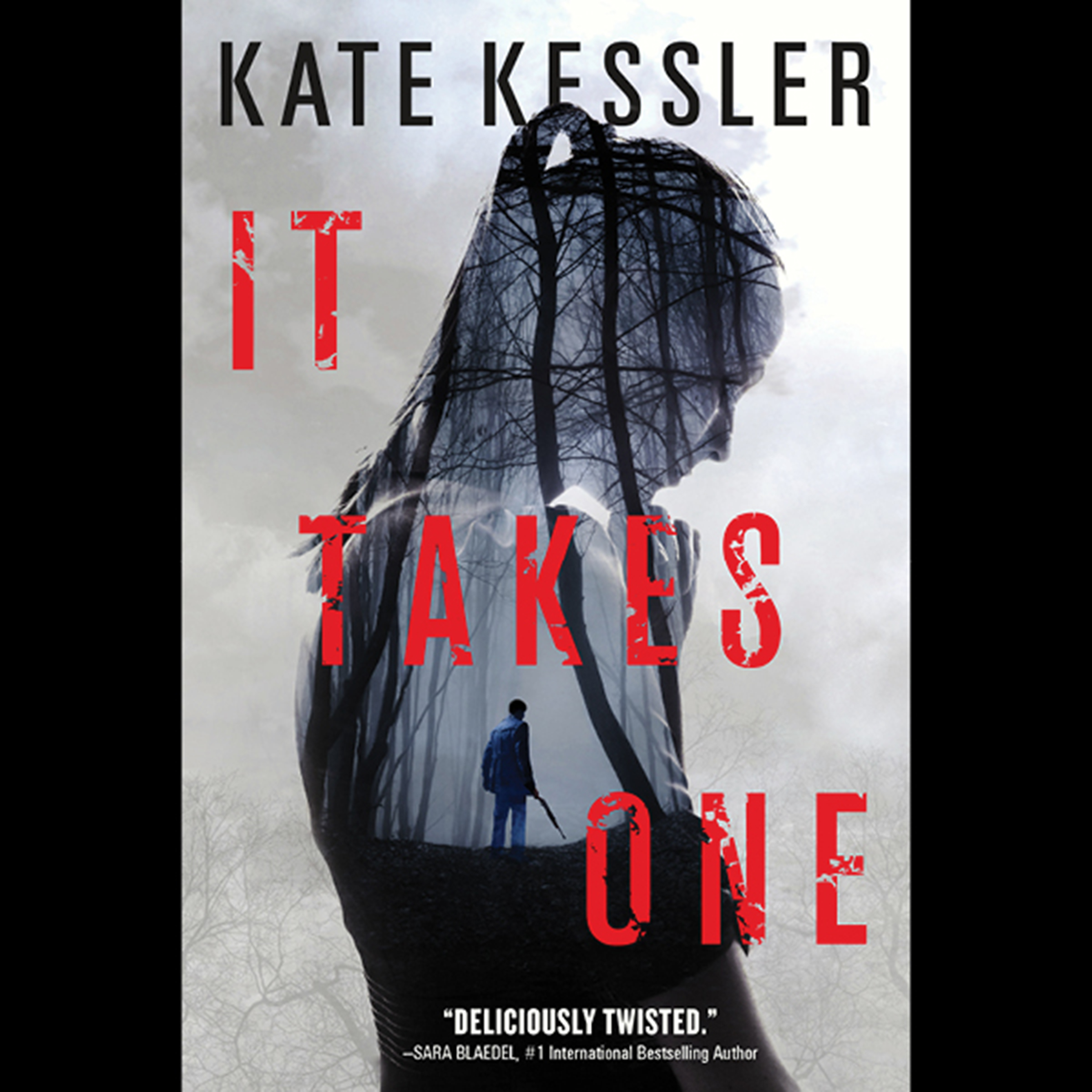 Printable It Takes One: An Audrey Harte Novel Audiobook Cover Art