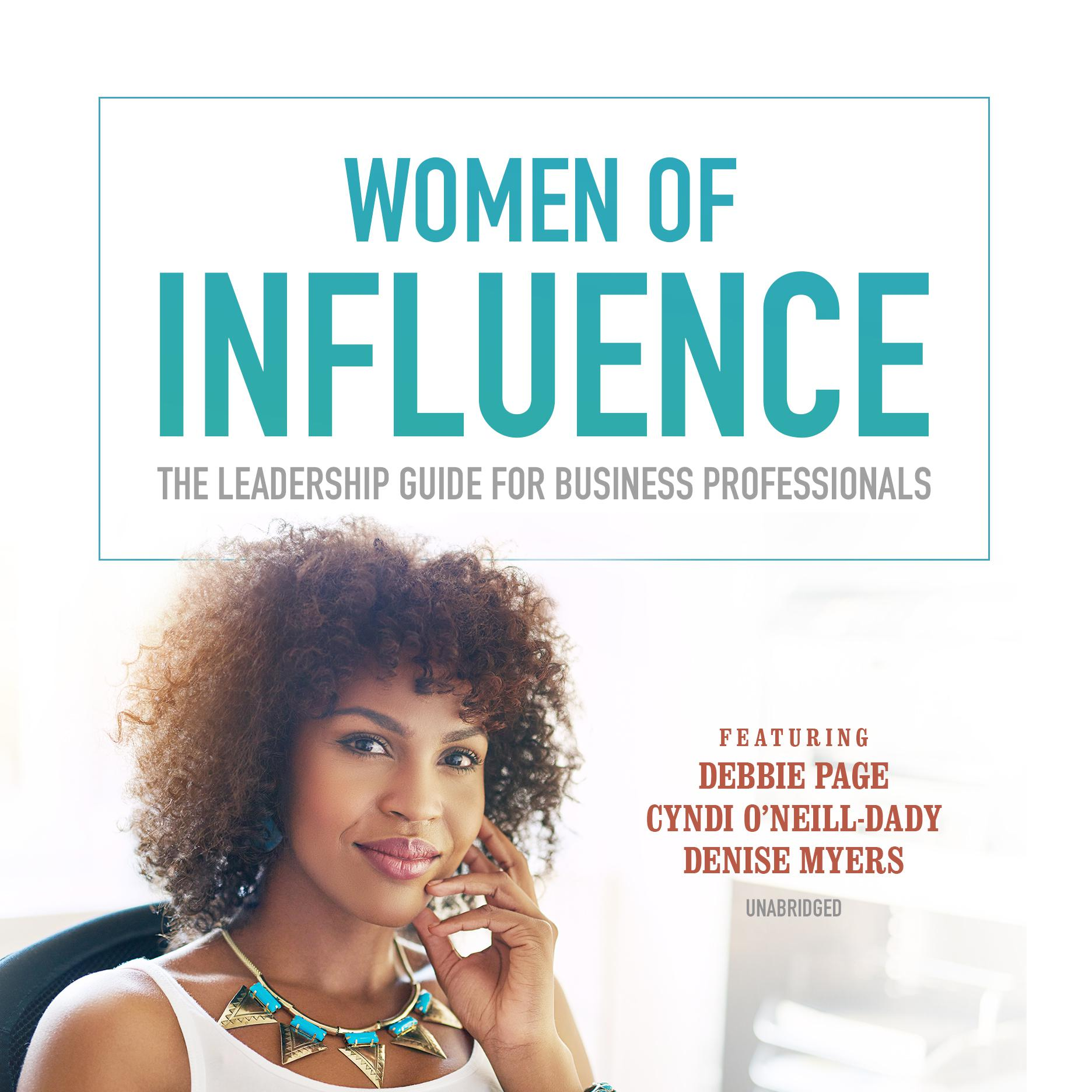 Printable Women of Influence: The Leadership Guide for Business Professionals Audiobook Cover Art