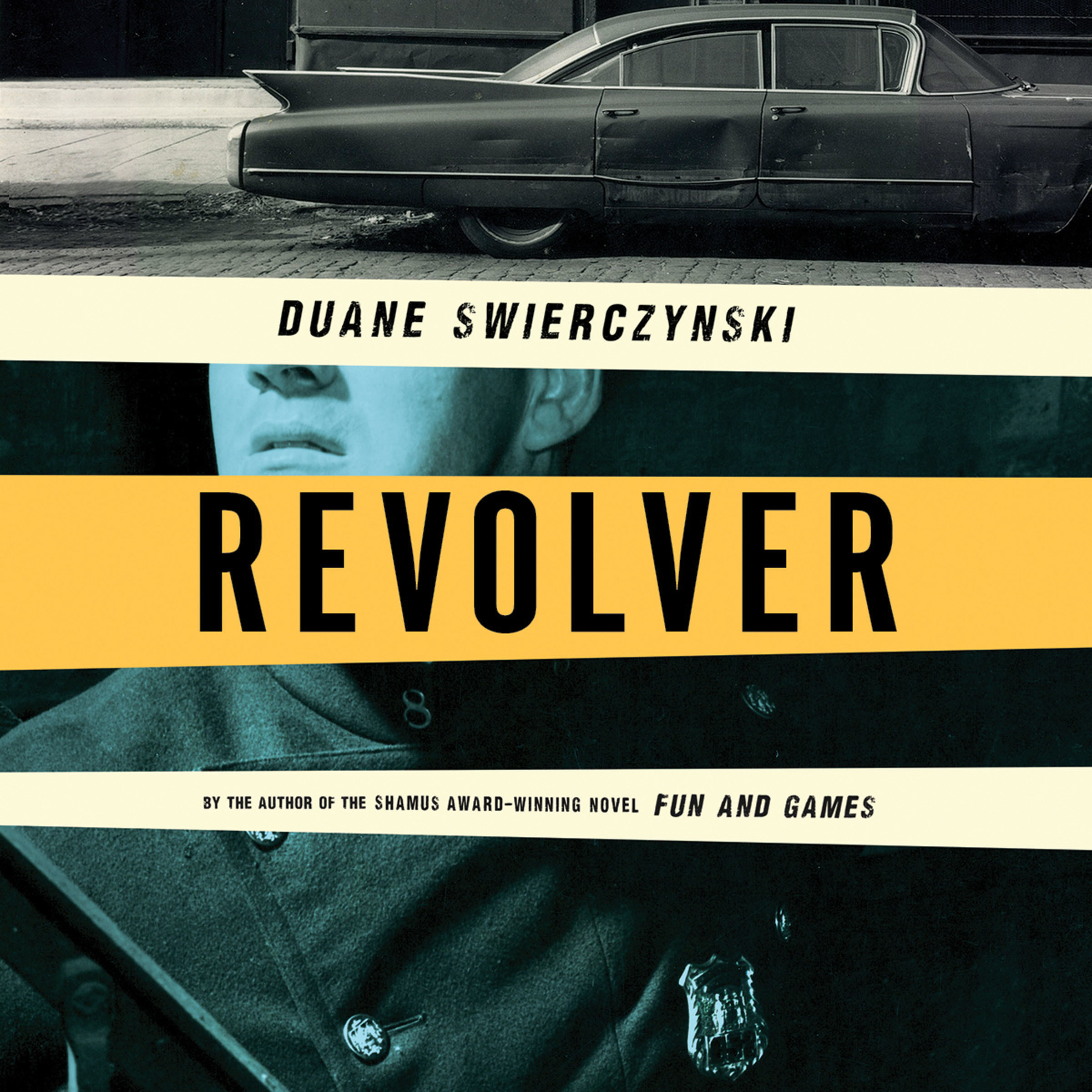 Printable Revolver Audiobook Cover Art