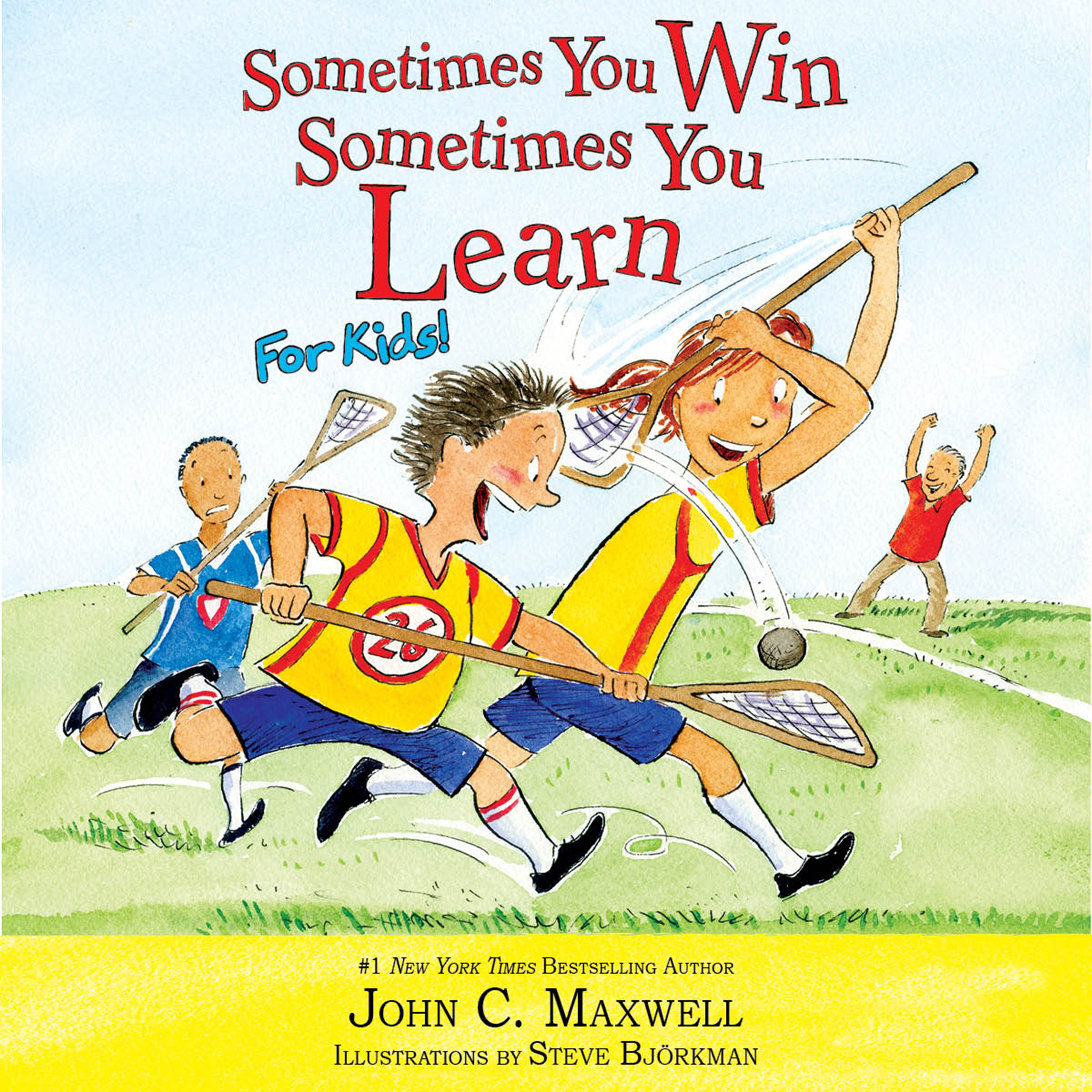 Printable Sometimes You Win—Sometimes You Learn for Kids Audiobook Cover Art
