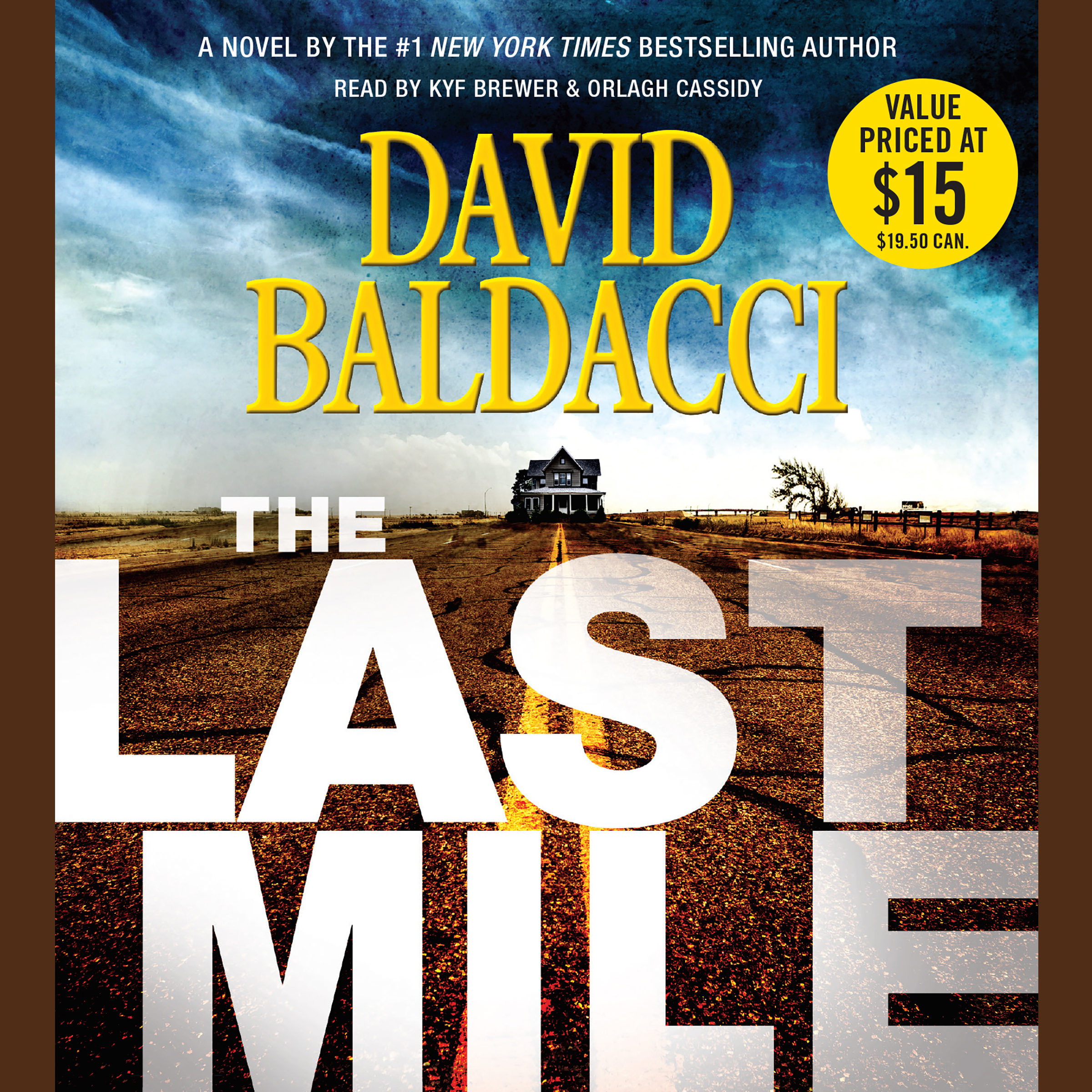 Printable The Last Mile Audiobook Cover Art