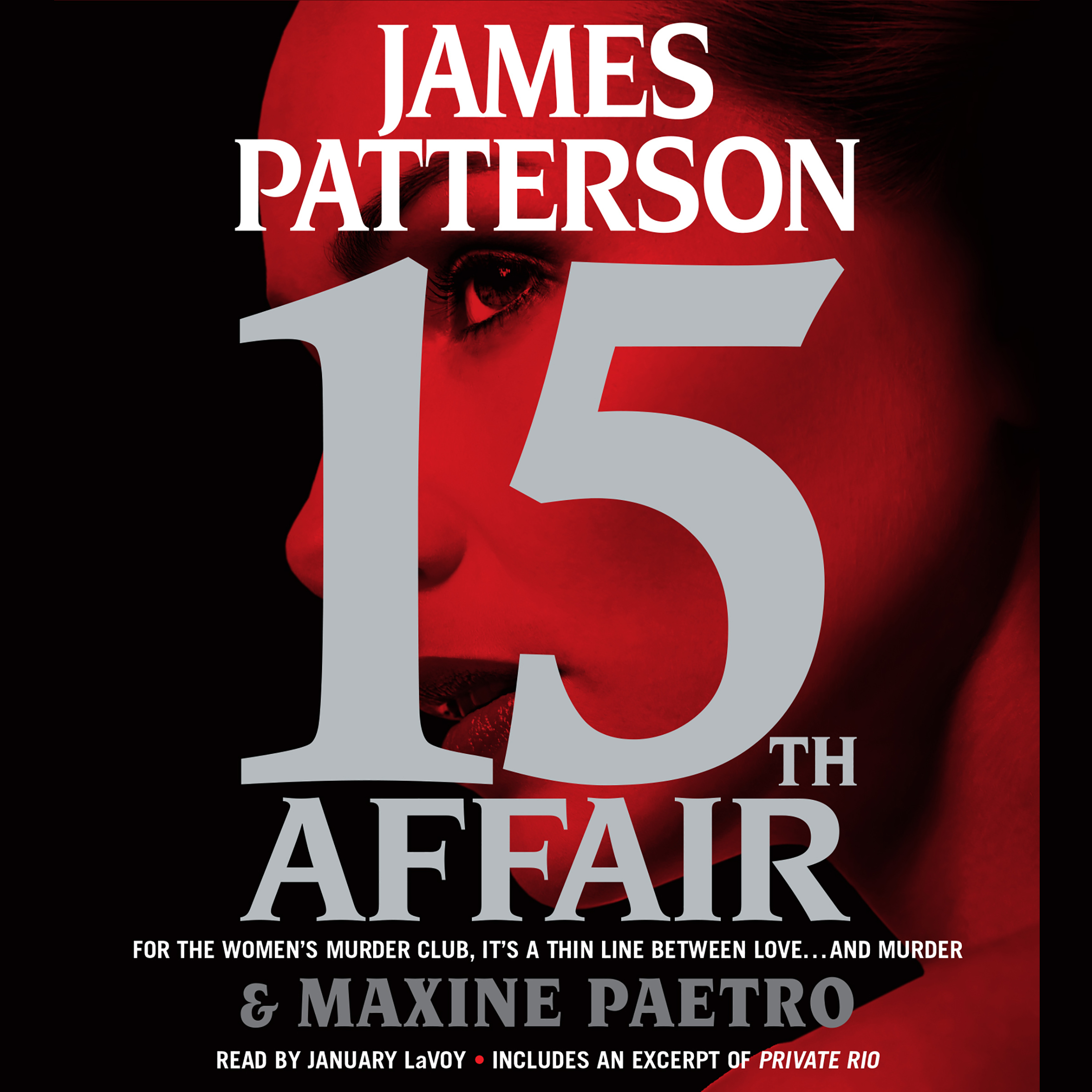 Printable 15th Affair Audiobook Cover Art