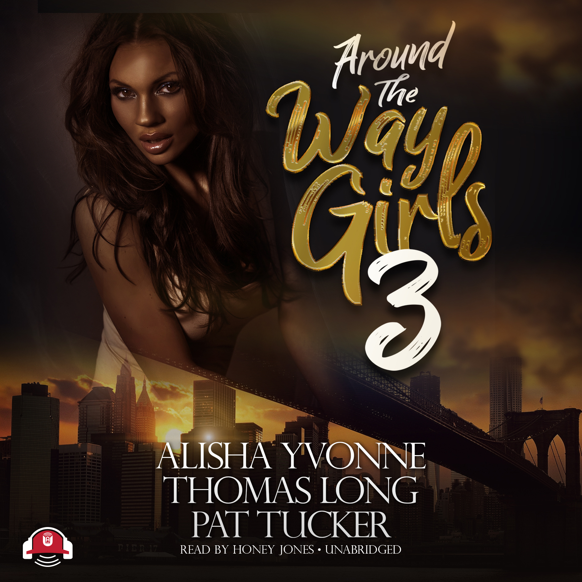 Printable Around the Way Girls 3 Audiobook Cover Art
