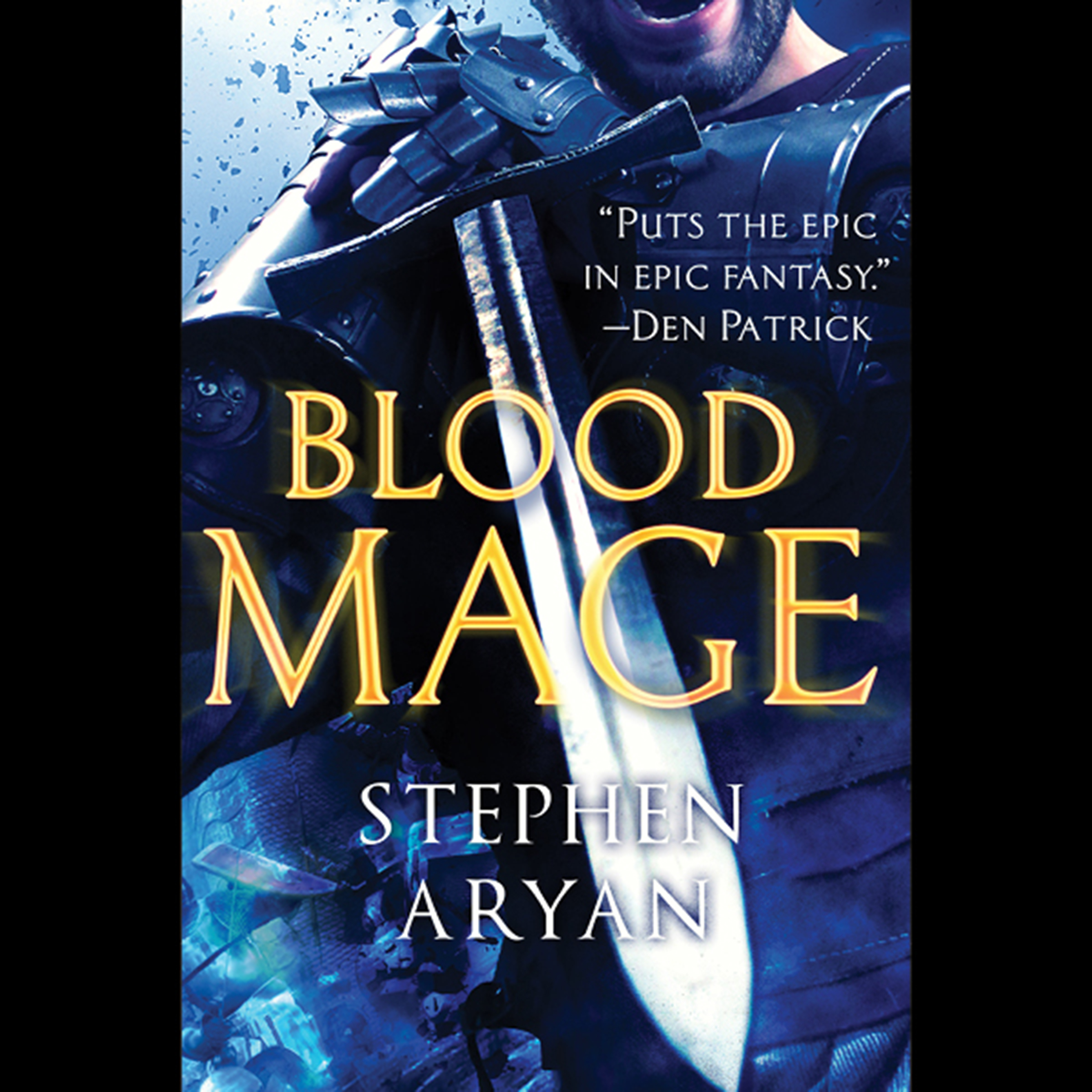 Printable Bloodmage Audiobook Cover Art