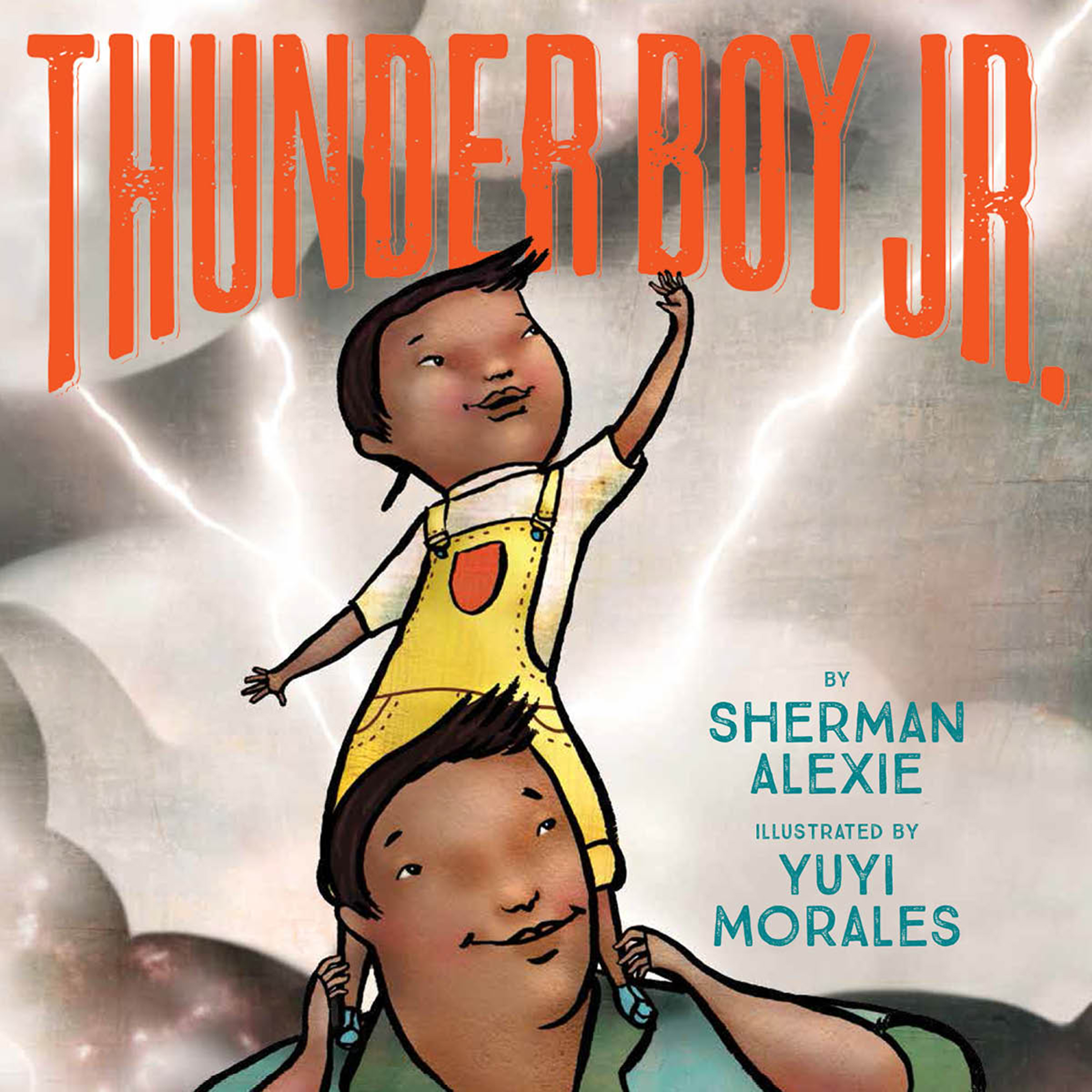 Printable Thunder Boy Jr. Audiobook Cover Art