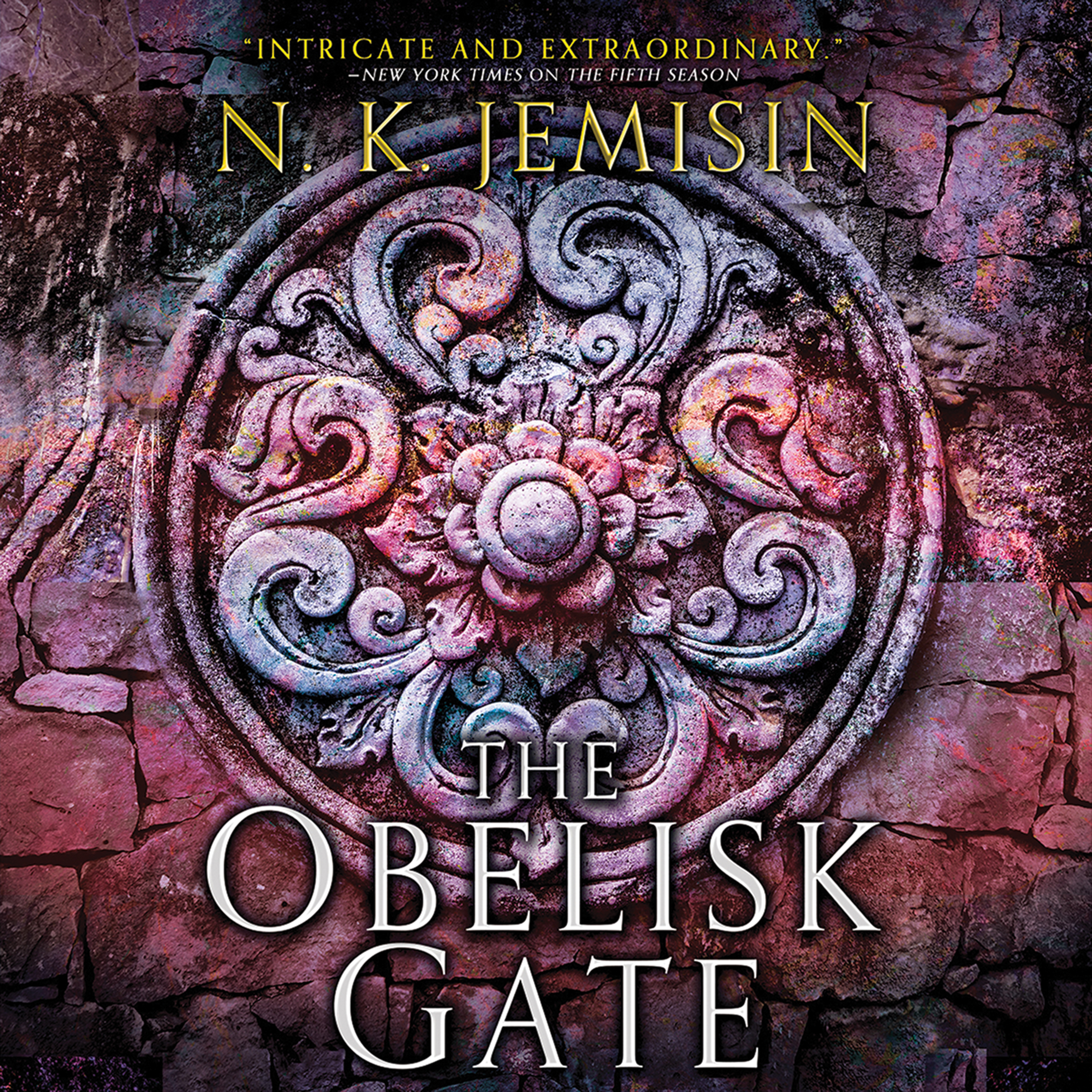 Printable The Obelisk Gate Audiobook Cover Art