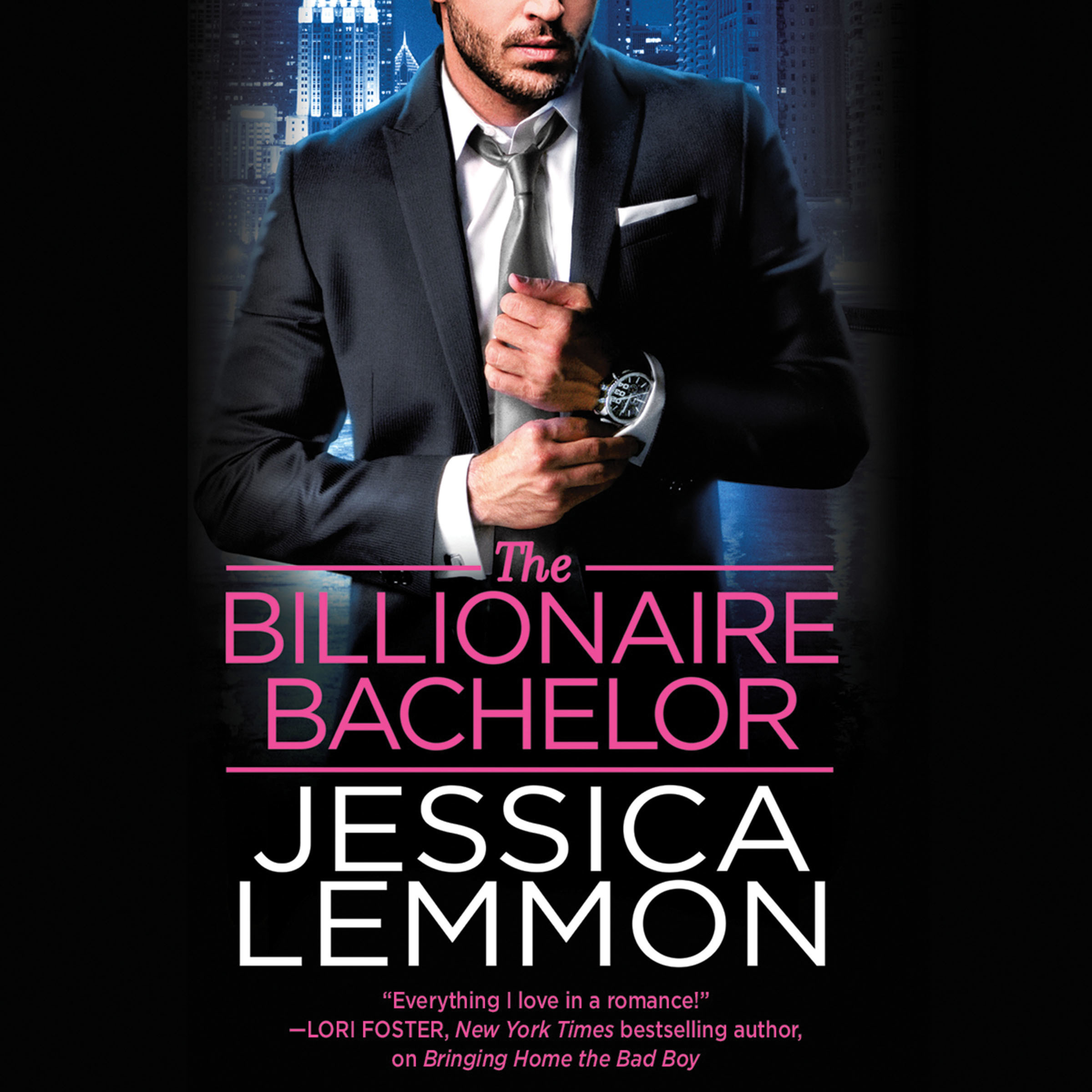 Printable The Billionaire Bachelor Audiobook Cover Art