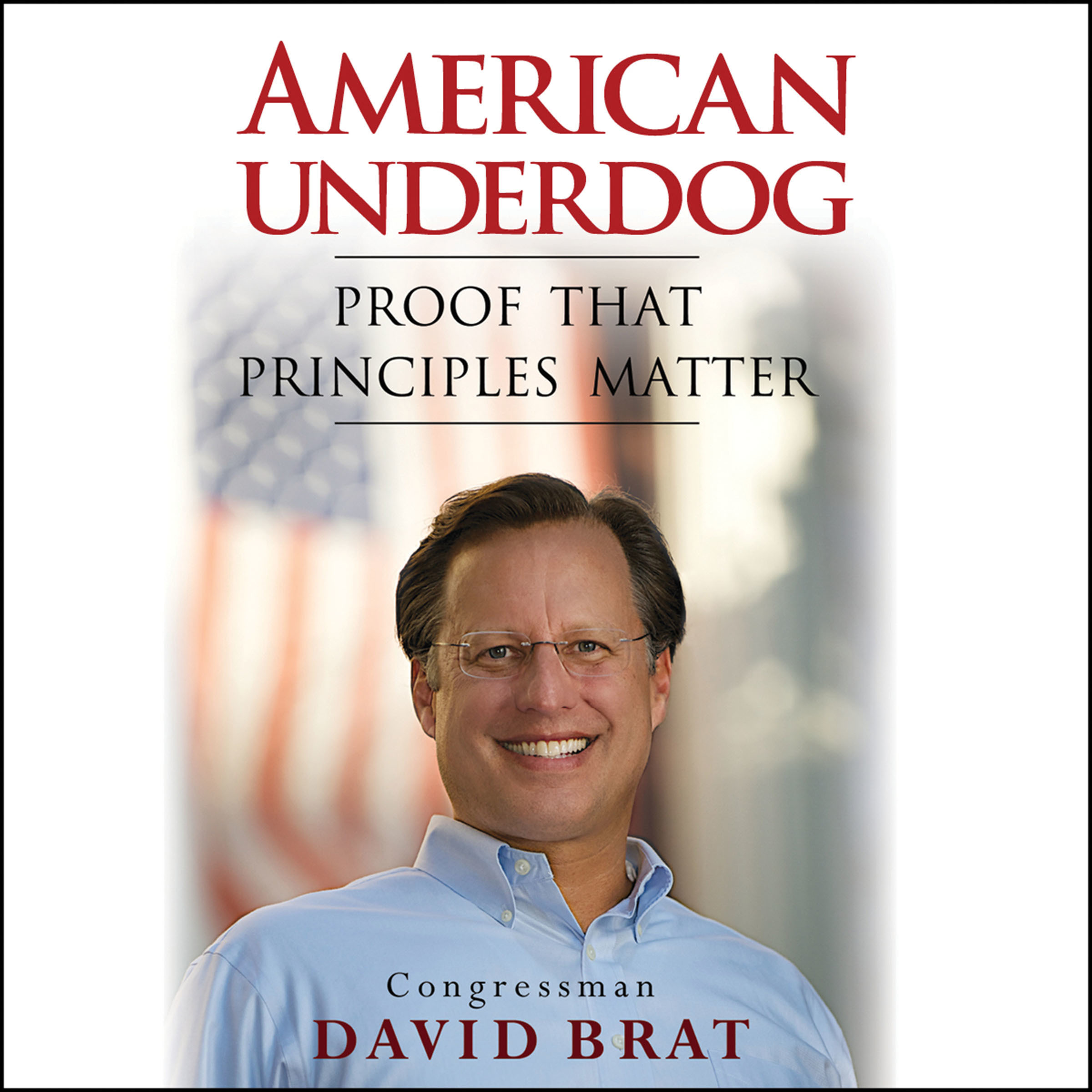 Printable American Underdog: Proof That Principles Matter Audiobook Cover Art