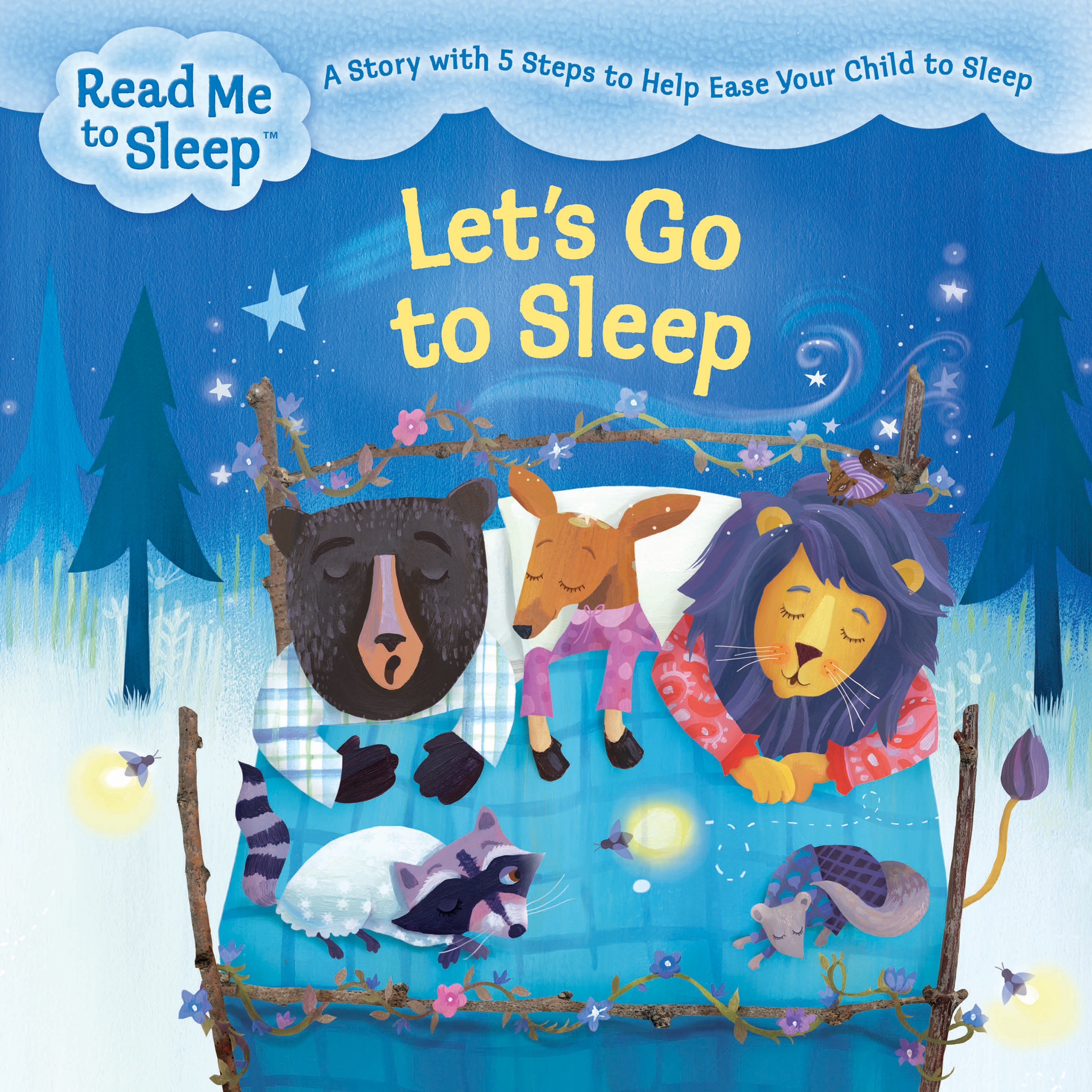 Printable Let's Go to Sleep: A Story with Five Steps to Help Ease Your Child to Sleep Audiobook Cover Art