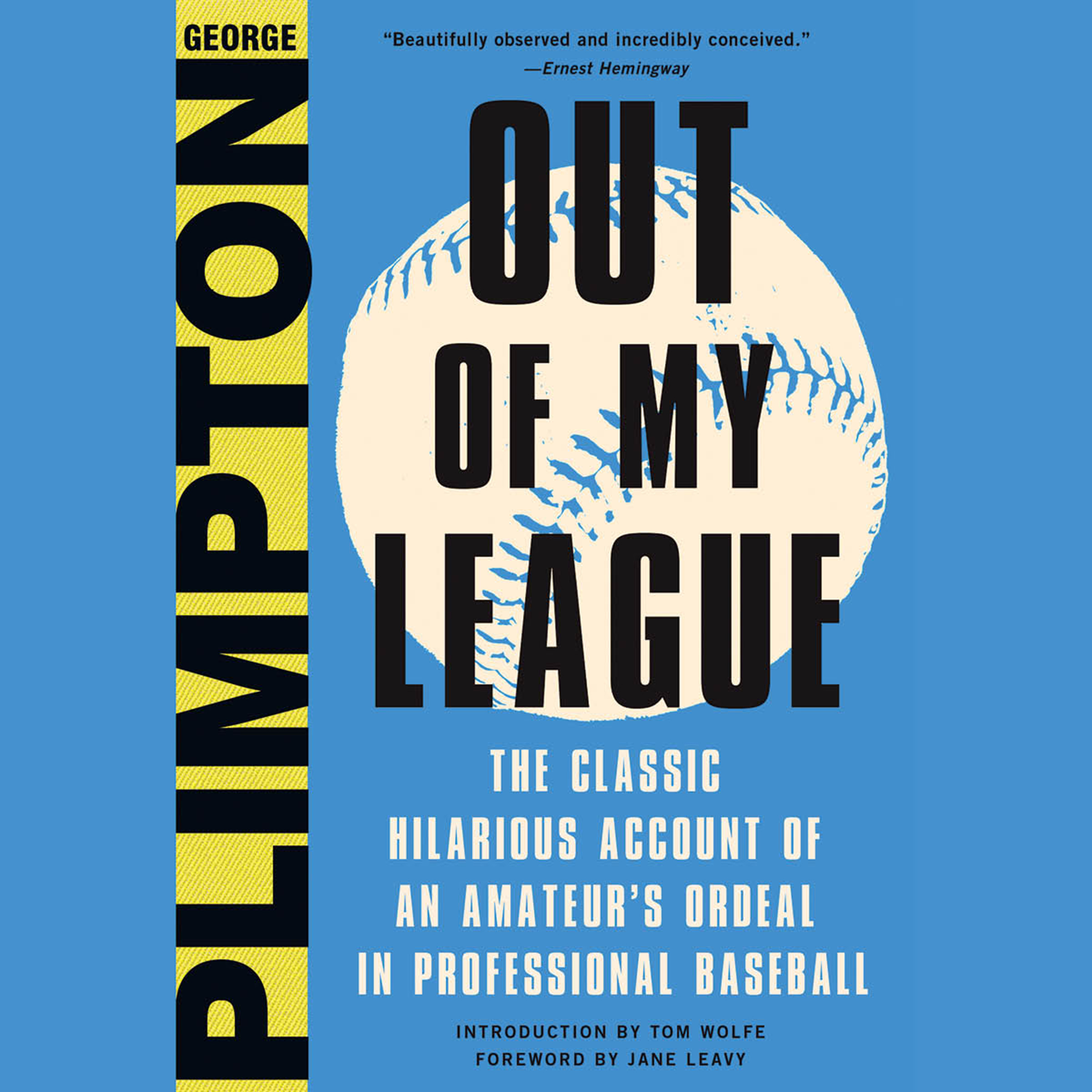 Printable Out of My League: The Classic Hilarious Account of an Amateur's Ordeal in Professional Baseball Audiobook Cover Art