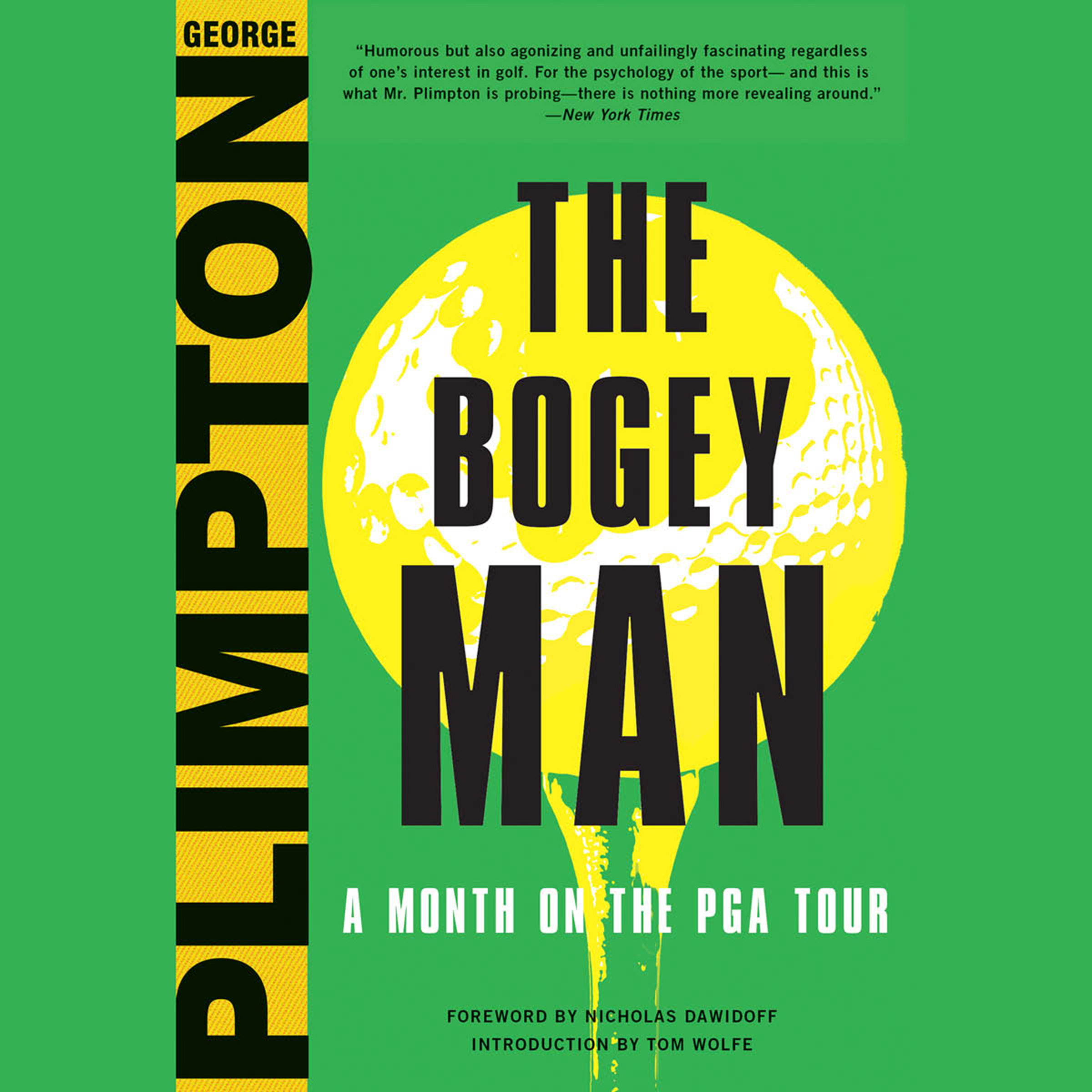 Printable The Bogey Man: A Month on the PGA Tour Audiobook Cover Art