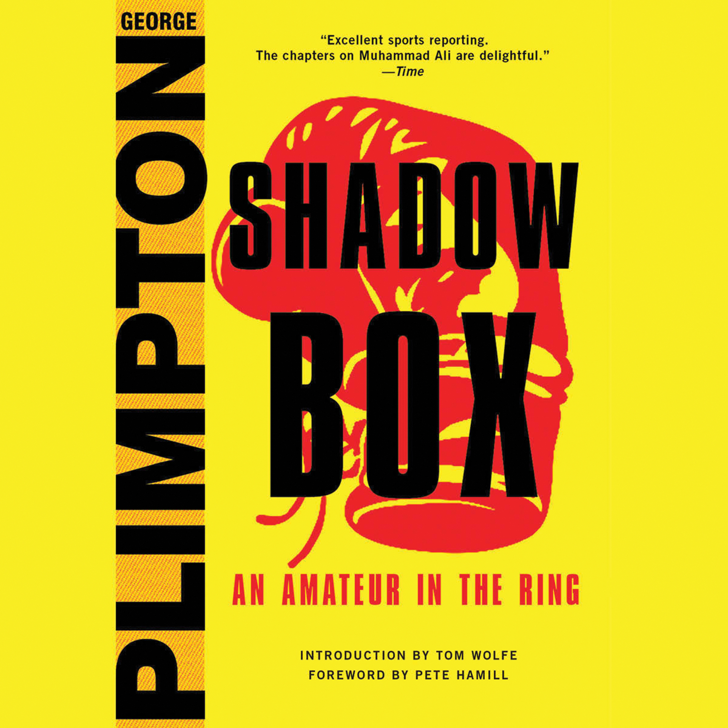 Printable Shadow Box: An Amateur in the Ring Audiobook Cover Art
