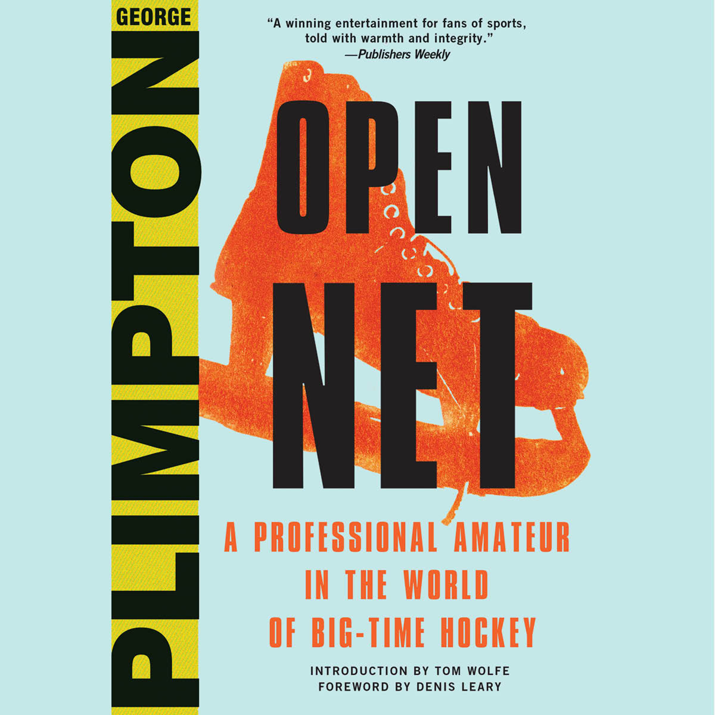 Printable Open Net: A Professional Amateur in the World of Big-Time Hockey Audiobook Cover Art