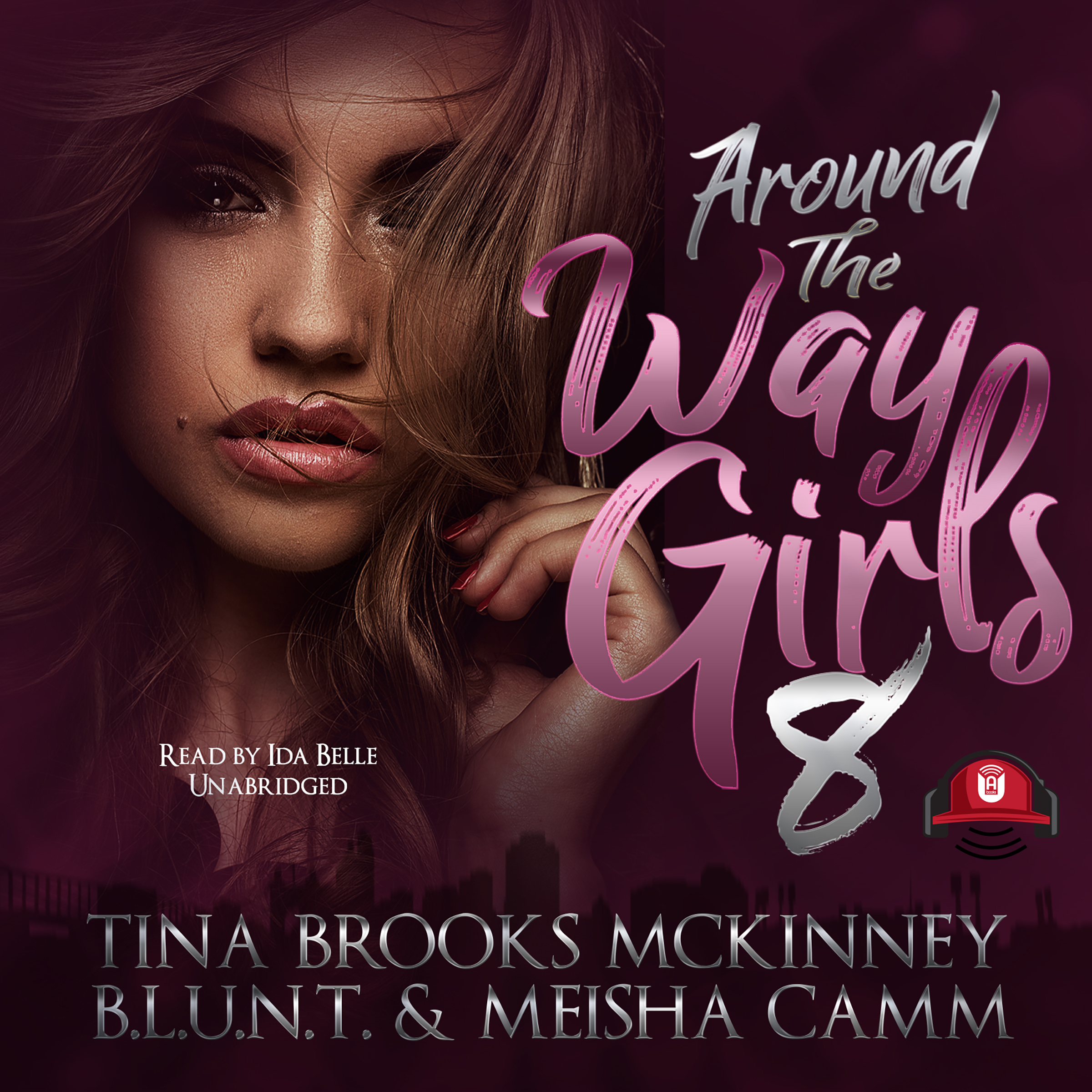 Printable Around the Way Girls 8 Audiobook Cover Art
