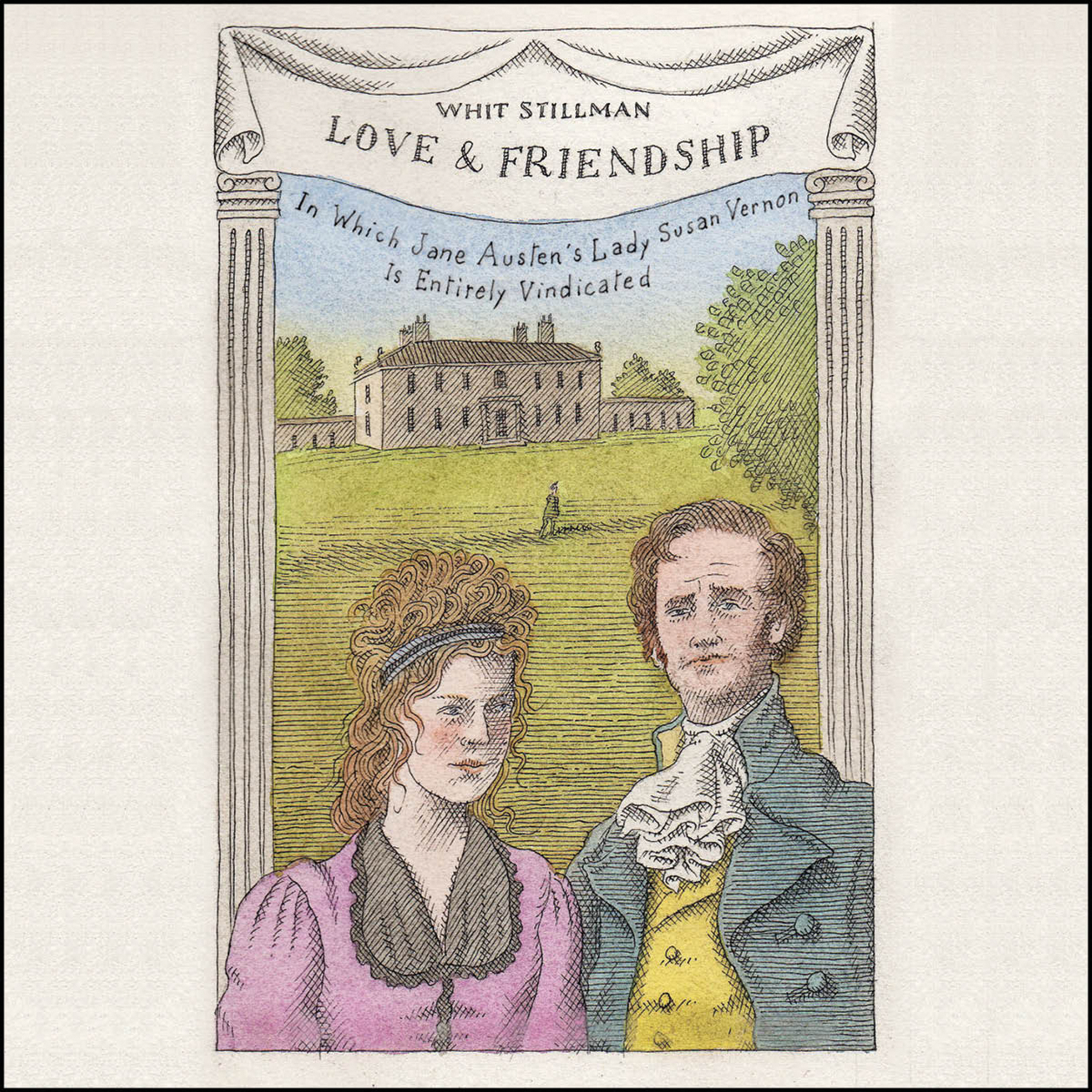 Printable Love & Friendship: In Which Jane Austen's Lady Susan Vernon is Entirely Vindicated Audiobook Cover Art