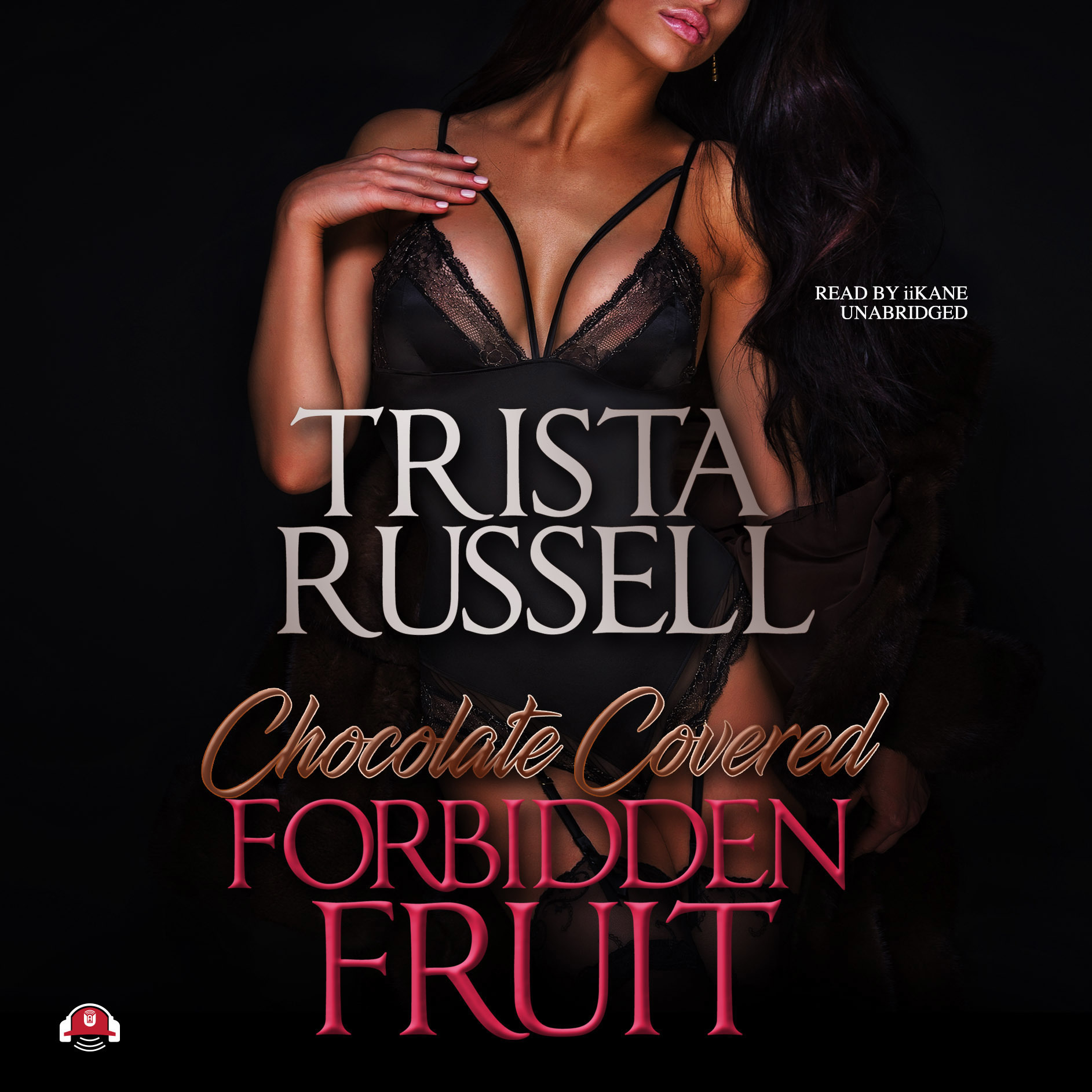 Printable Chocolate Covered Forbidden Fruit Audiobook Cover Art