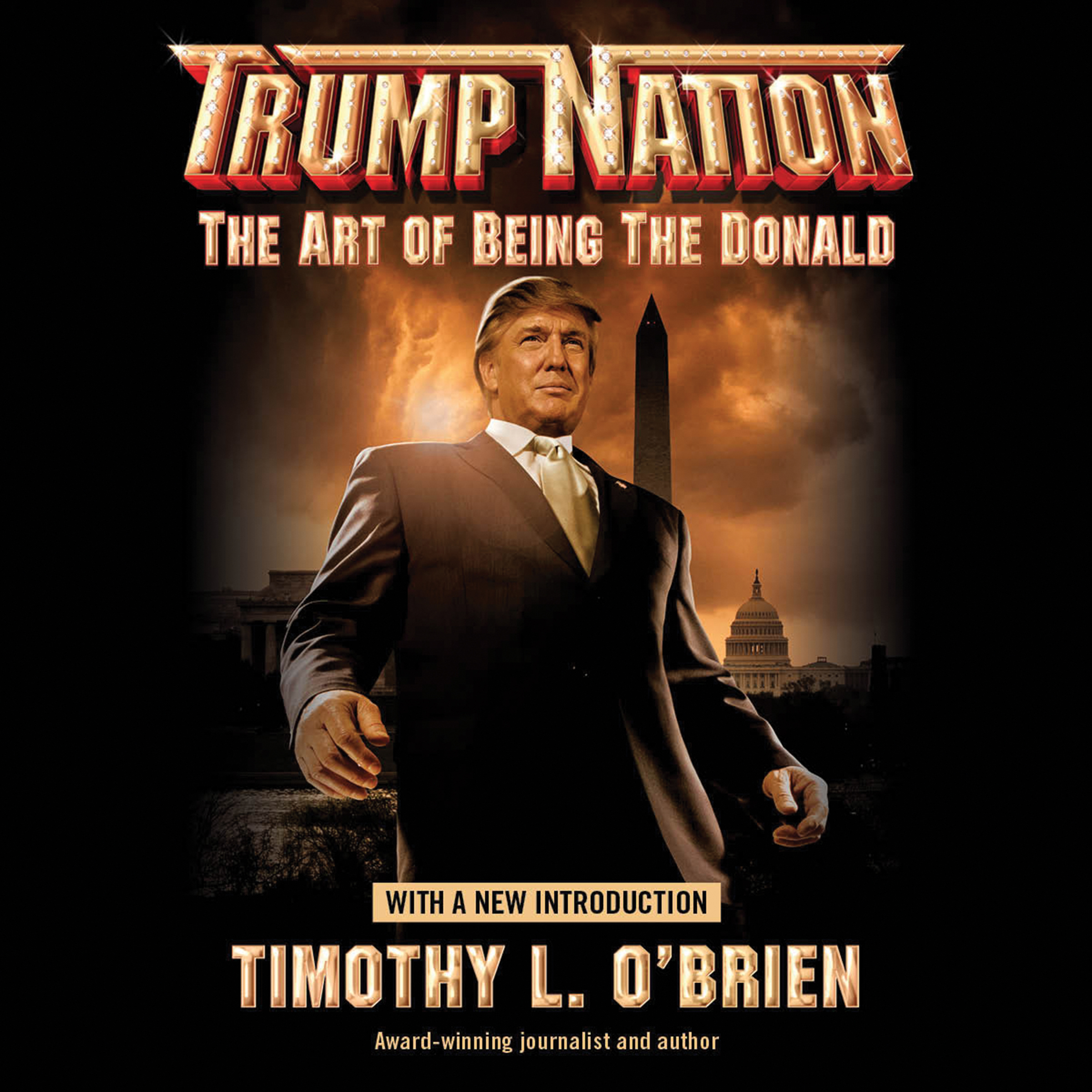 Printable Trumpnation: The Art of Being The Donald Audiobook Cover Art