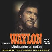 Waylon Audiobook, by Waylon Jennings, Lenny Kaye