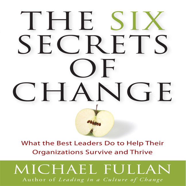 Printable The Six Secrets of Change: What the Best Leaders Do to Help Their Organizations Survive and Thrive Audiobook Cover Art