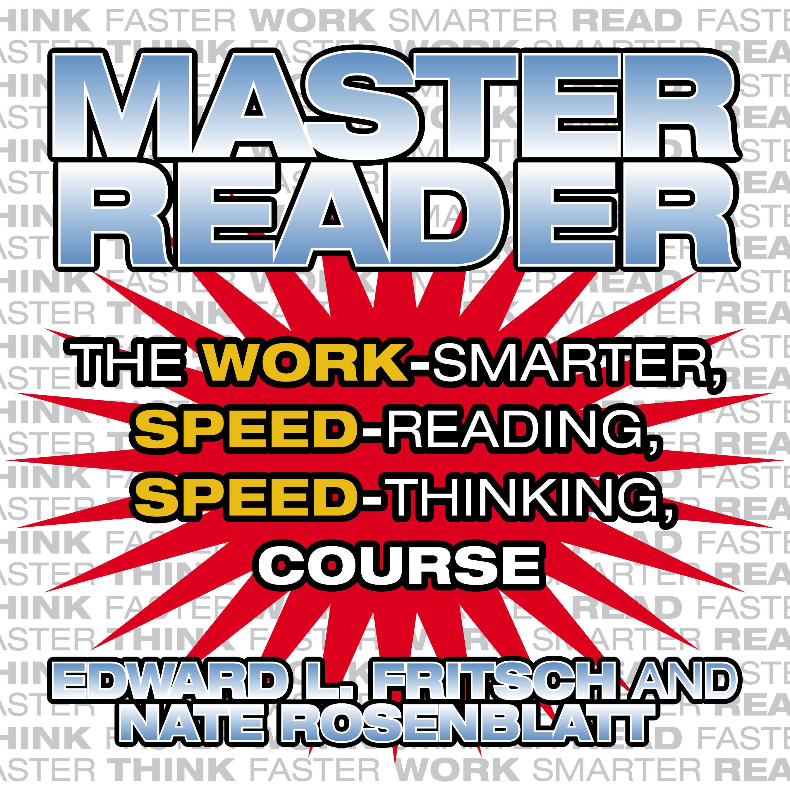 Printable Master Reader: The 4-Hour Speed-Reading, Speed-Thinking Course Audiobook Cover Art