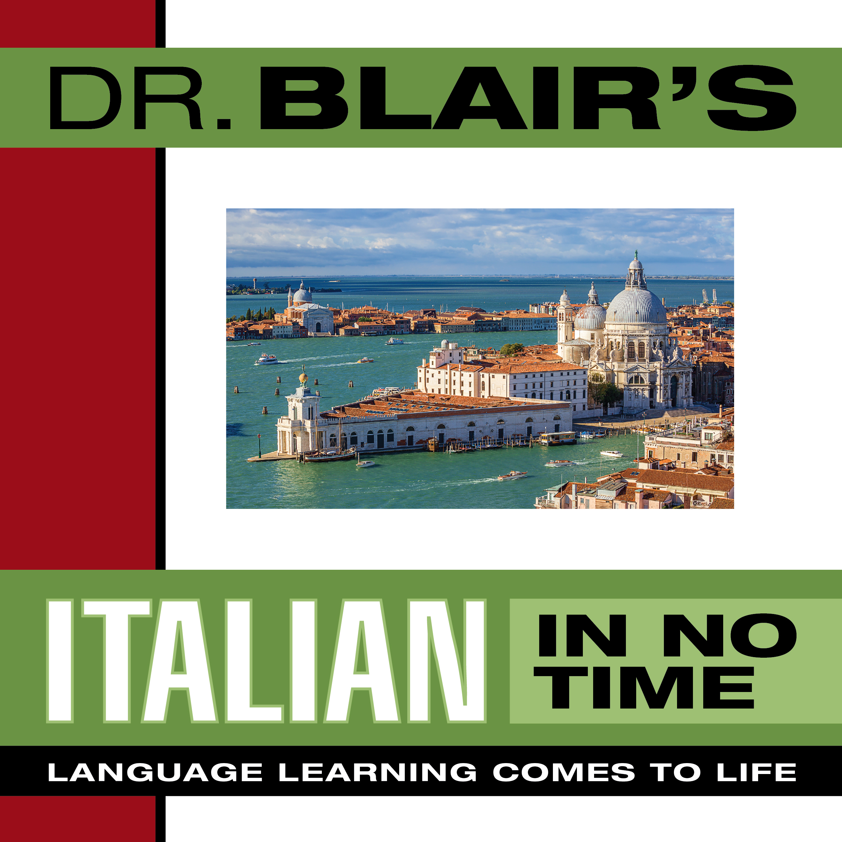 Printable Dr. Blair's Italian in No Time: The Revolutionary New Language Instruction Method That's Proven to Work! Audiobook Cover Art