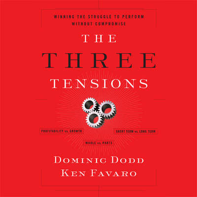 The Three Tensions: Winning the Struggle to Perform Without Compromise Audiobook, by Dominic Dodd