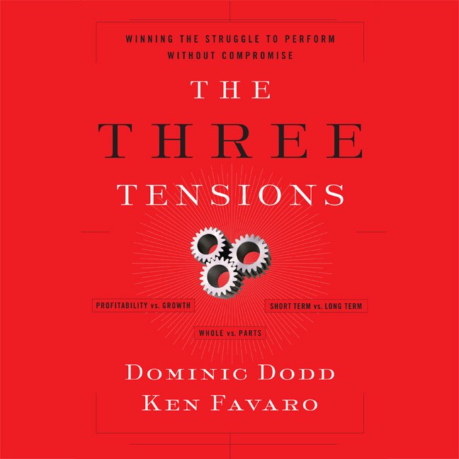 Printable The Three Tensions: Winning the Struggle to Perform Without Compromise Audiobook Cover Art