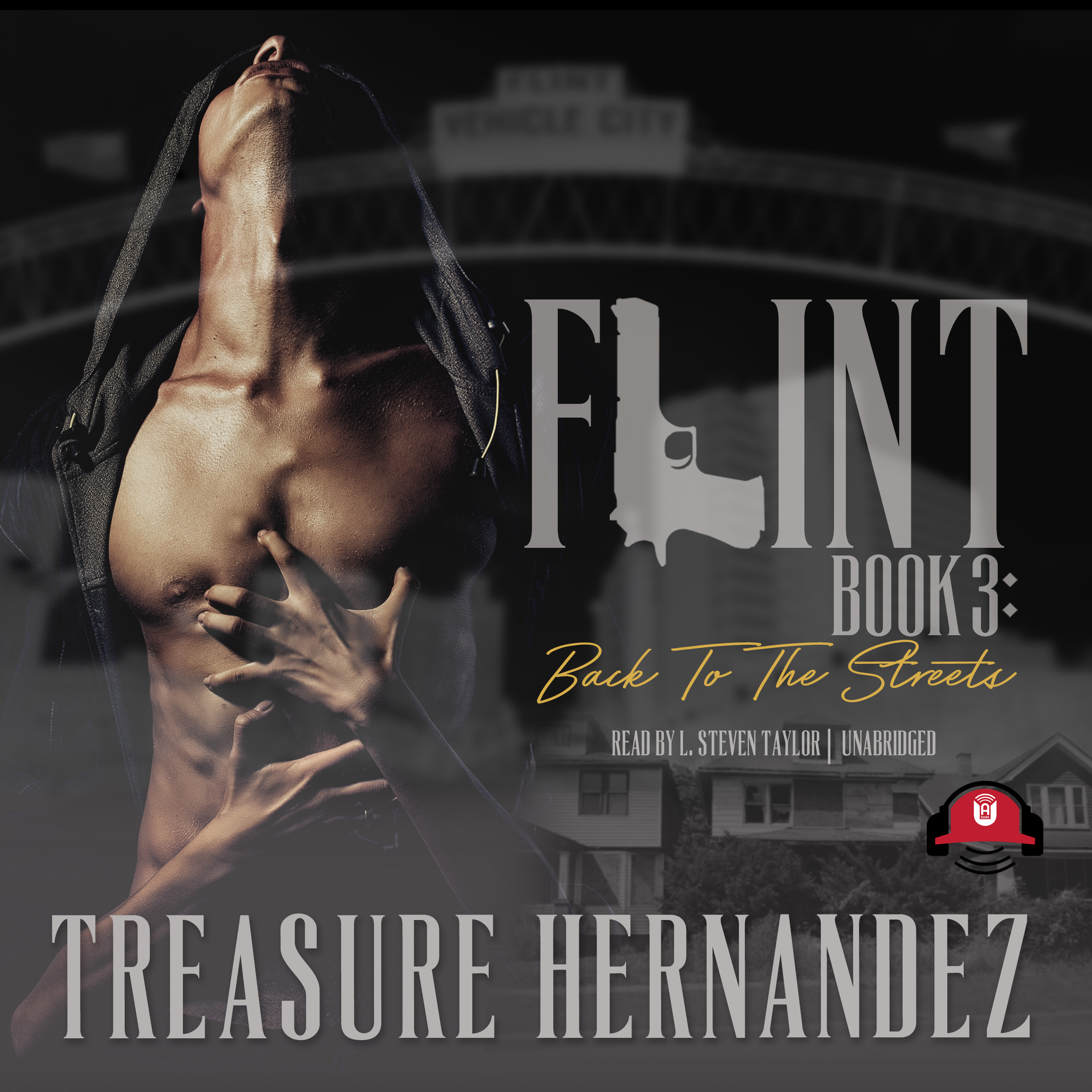 Printable Flint, Book 3: Back to the Streets Audiobook Cover Art