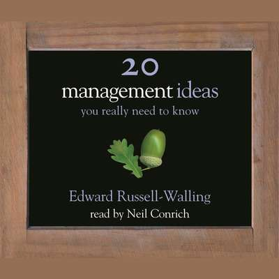 50 Management Ideas You Really Need to Know Audiobook, by Edward Russell-Walling