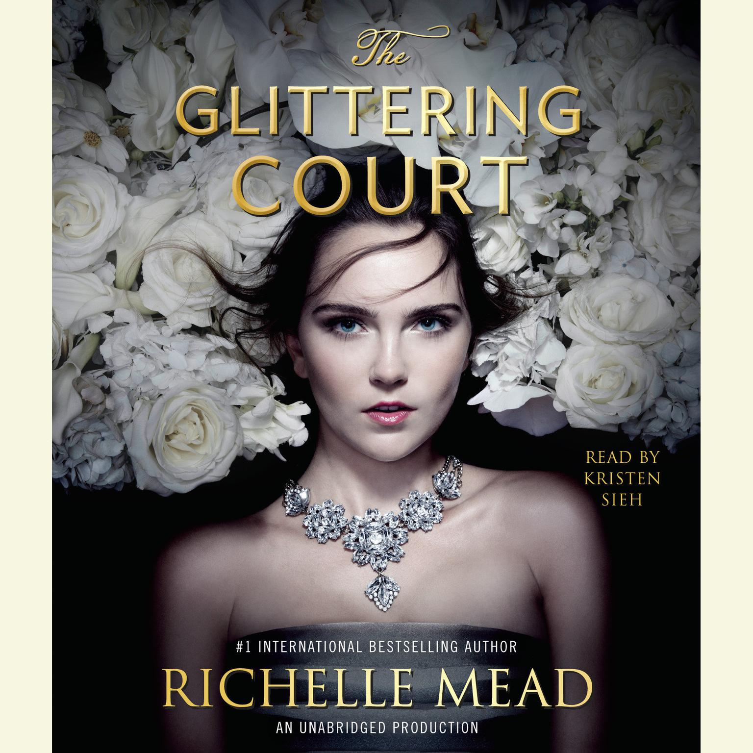 Printable The Glittering Court Audiobook Cover Art