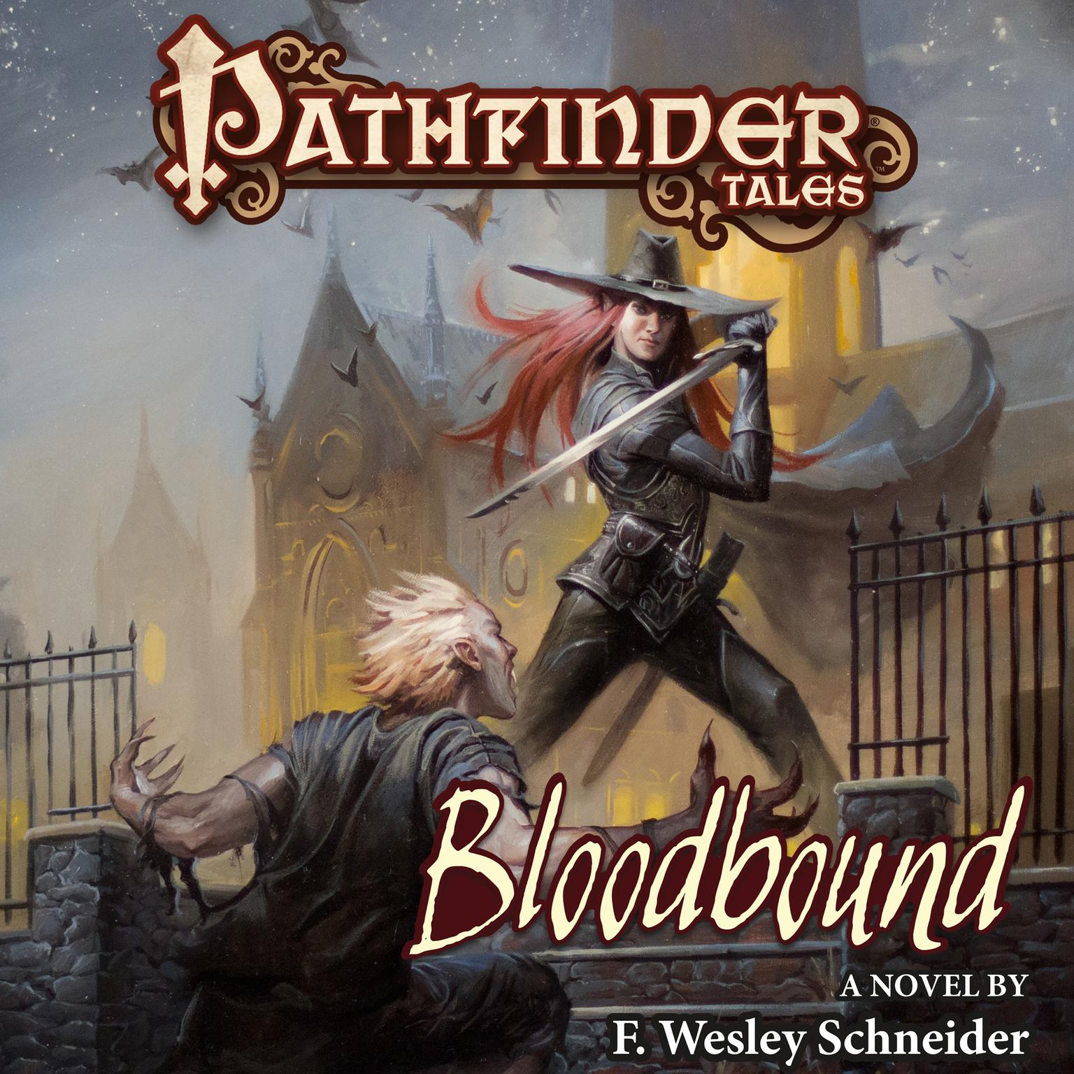Printable Pathfinder Tales: Bloodbound Audiobook Cover Art