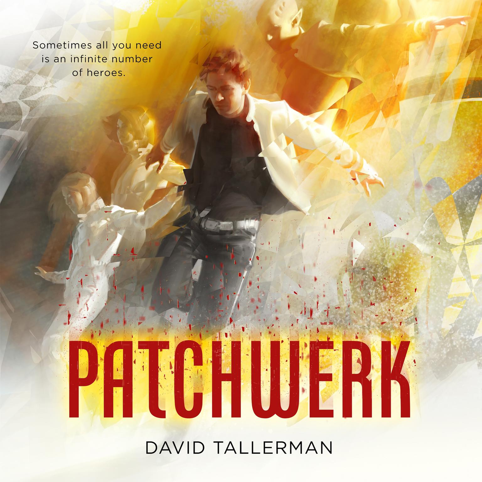 Printable Patchwerk Audiobook Cover Art
