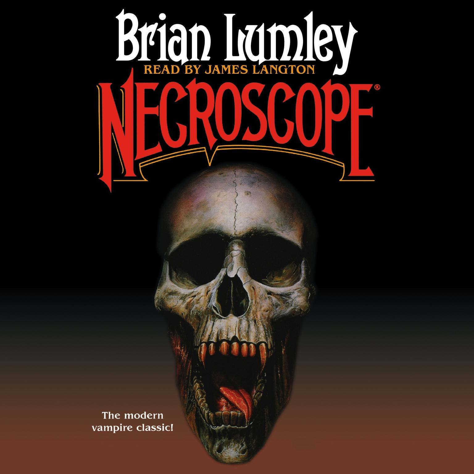 Printable Necroscope Audiobook Cover Art