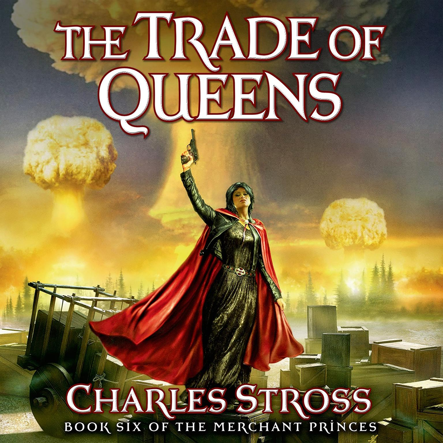 Printable The Trade of Queens: Book Six of the Merchant Princes Audiobook Cover Art