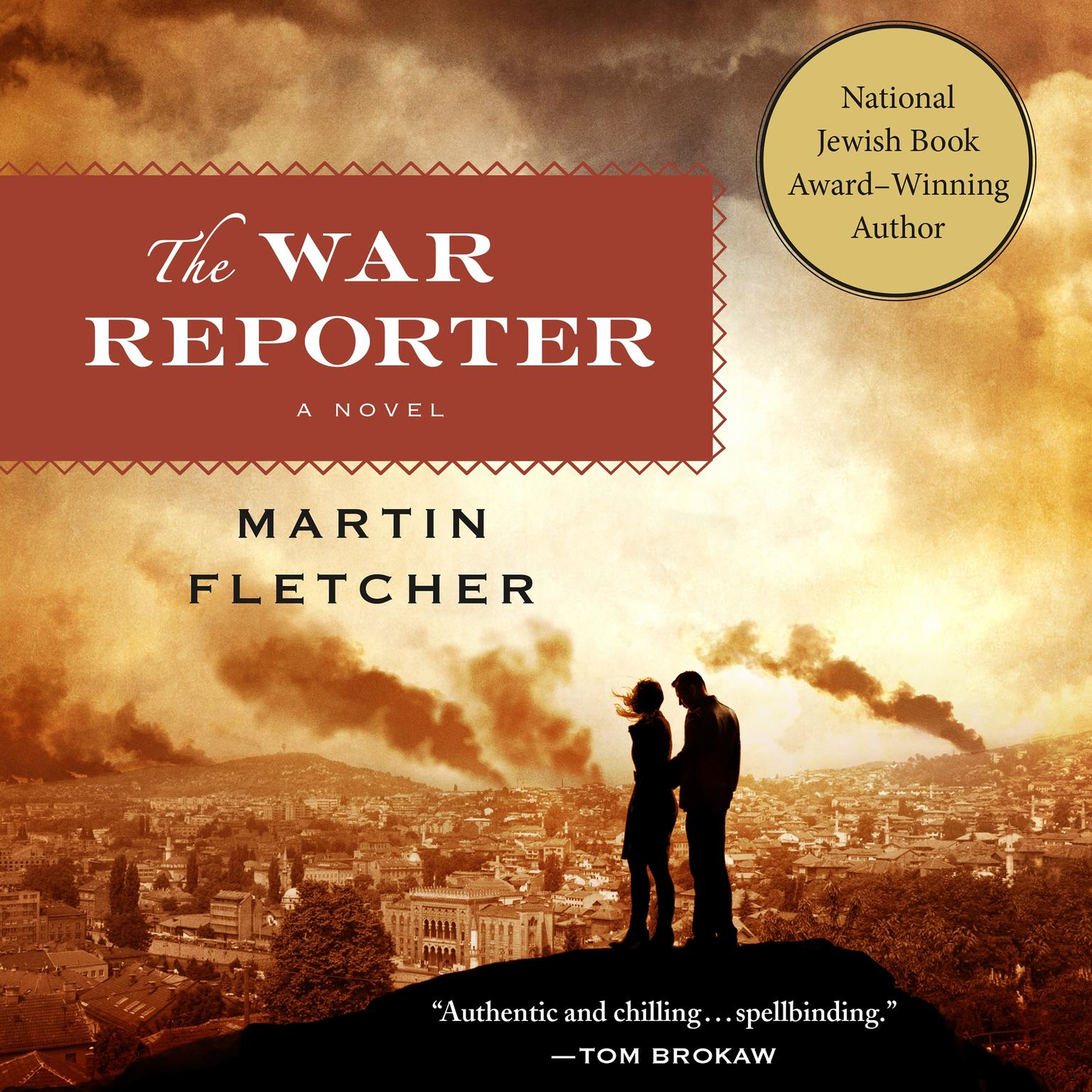 Printable The War Reporter: A Novel Audiobook Cover Art