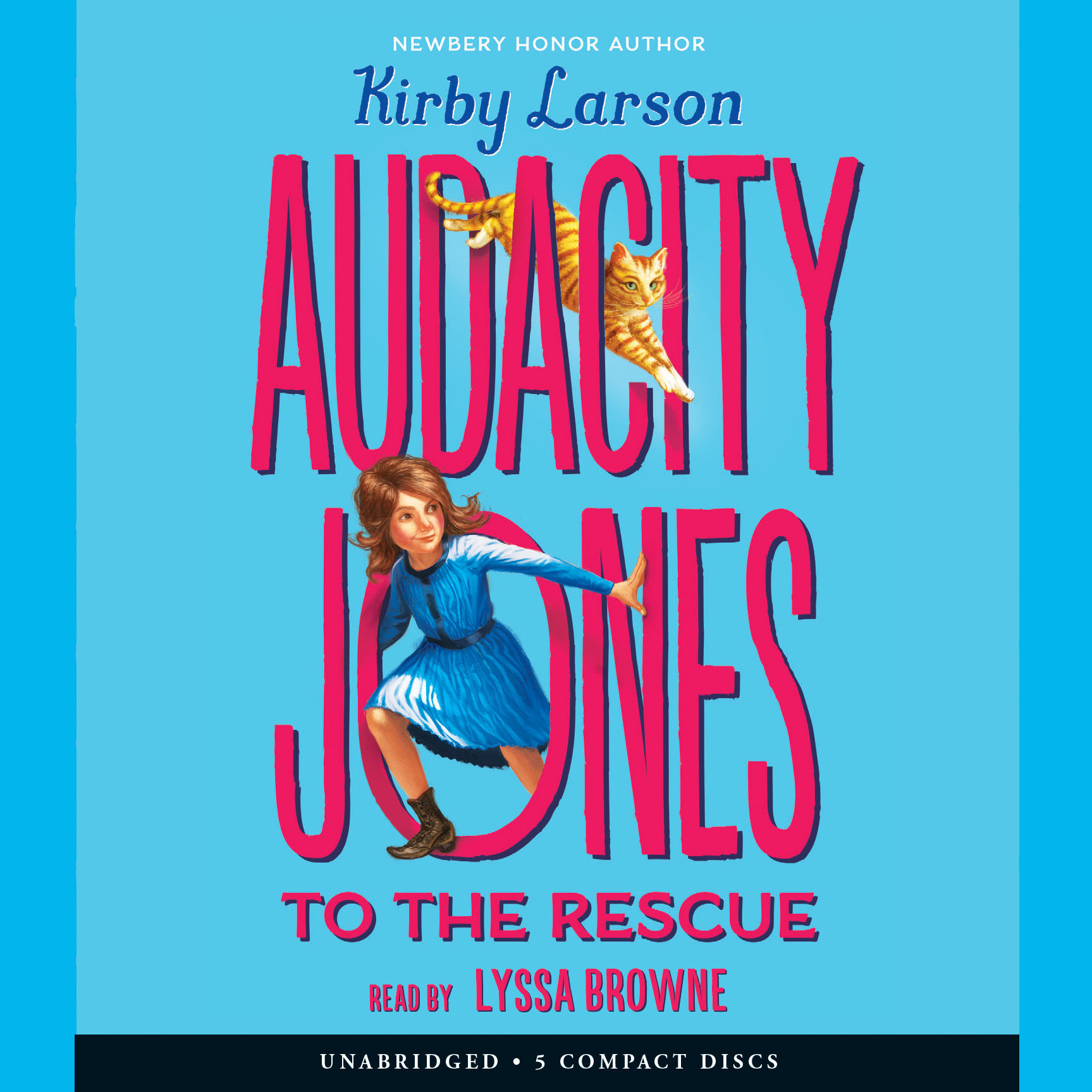Printable Audacity Jones to the Rescue Audiobook Cover Art