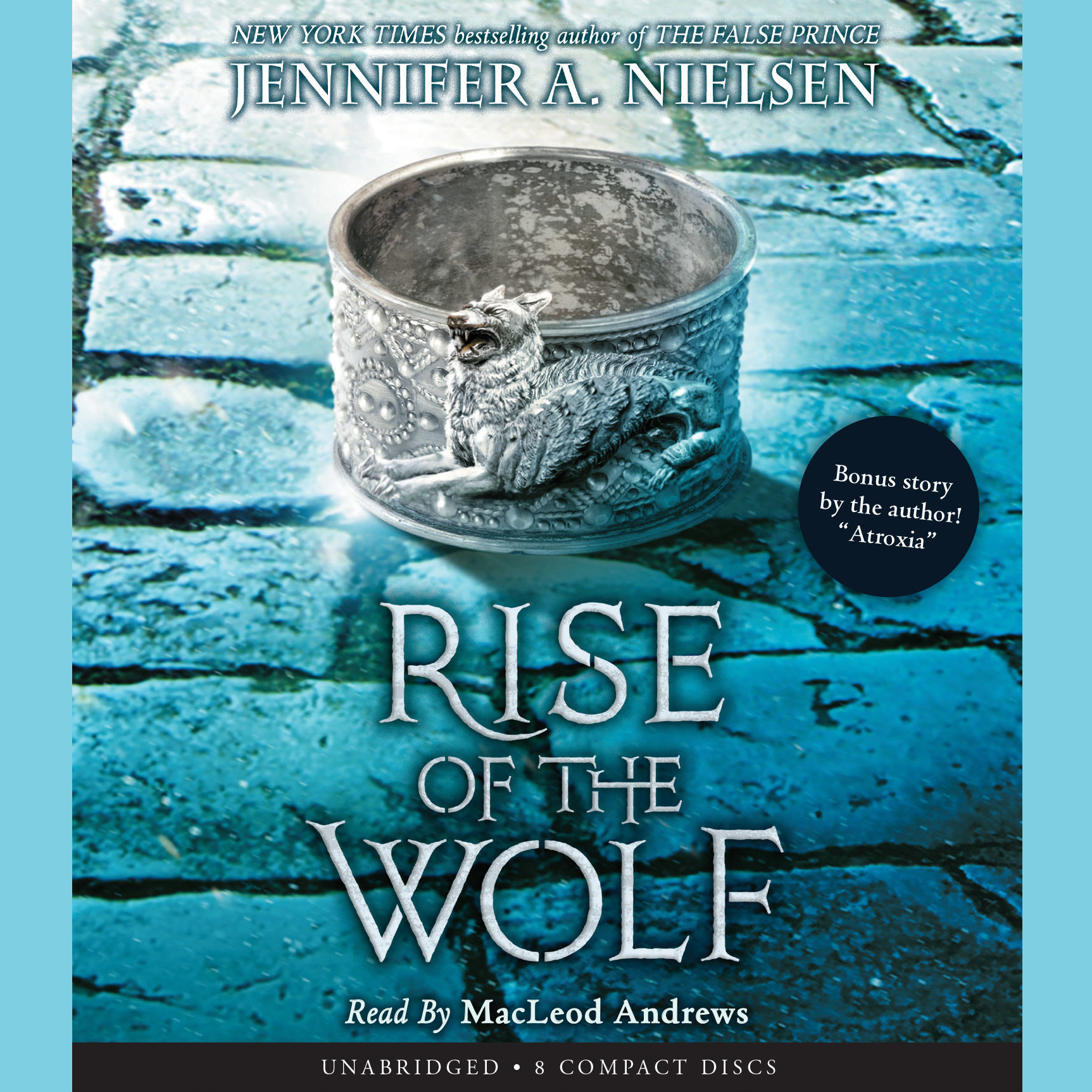 Printable Rise of the Wolf Audiobook Cover Art