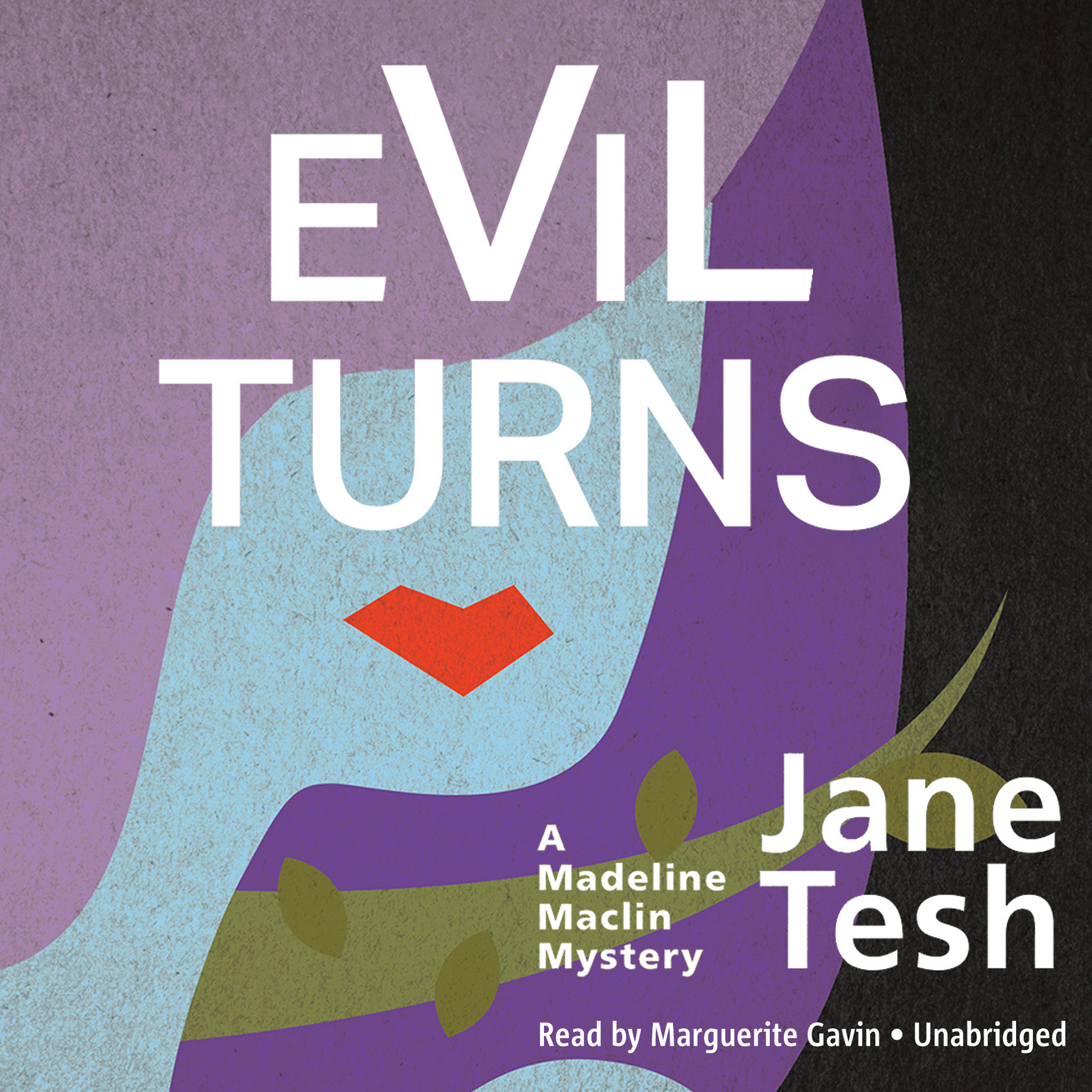 Printable Evil Turns: A Madeline Maclin Mystery Audiobook Cover Art